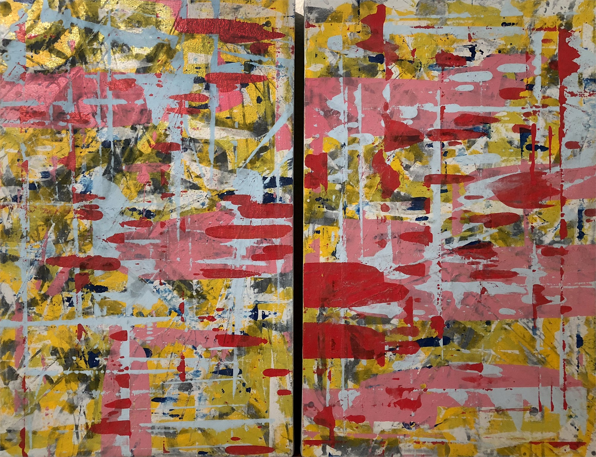 Untitled Diptych by Ibsen Espada