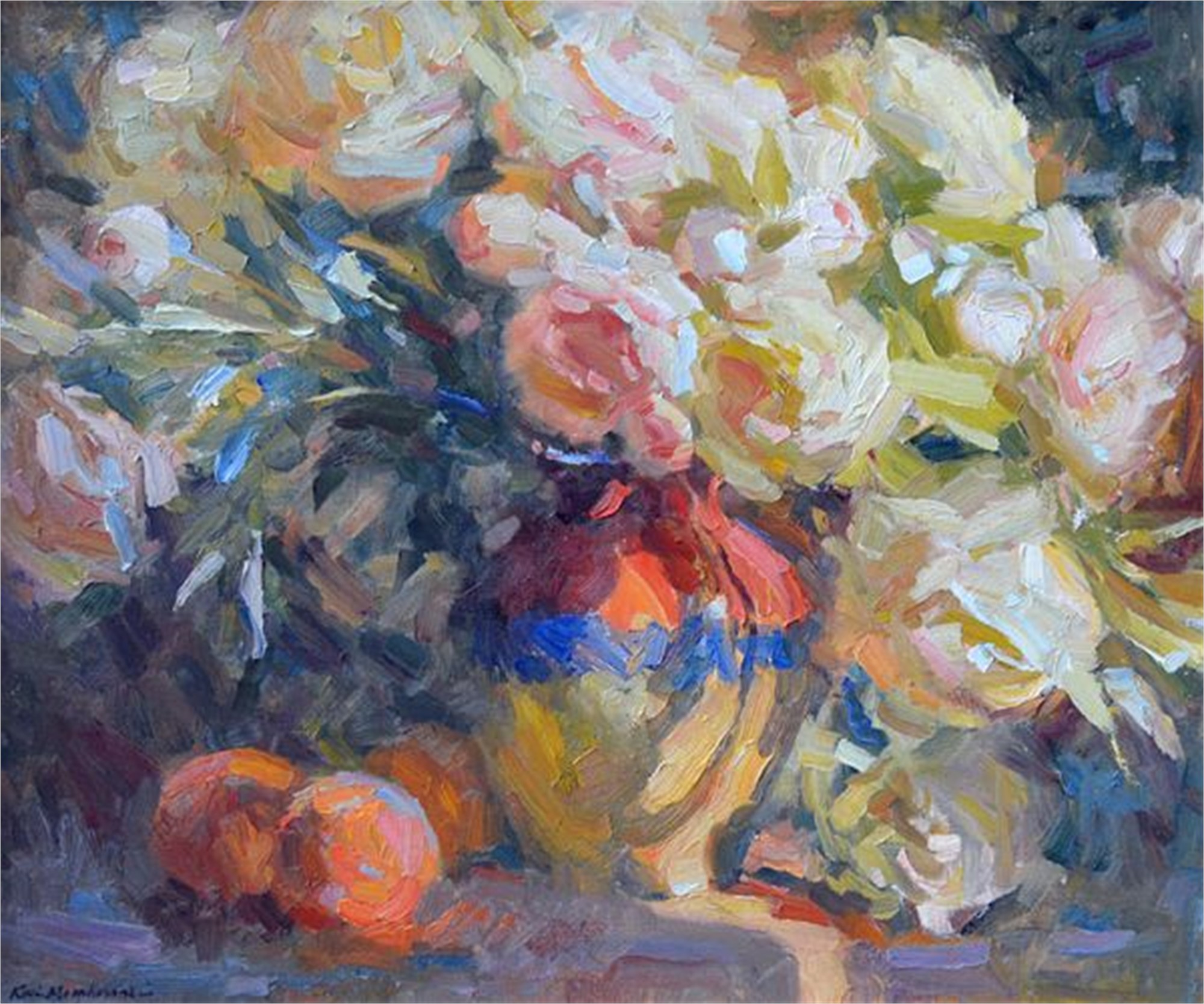 Peonies Cascade by Kevin Macpherson