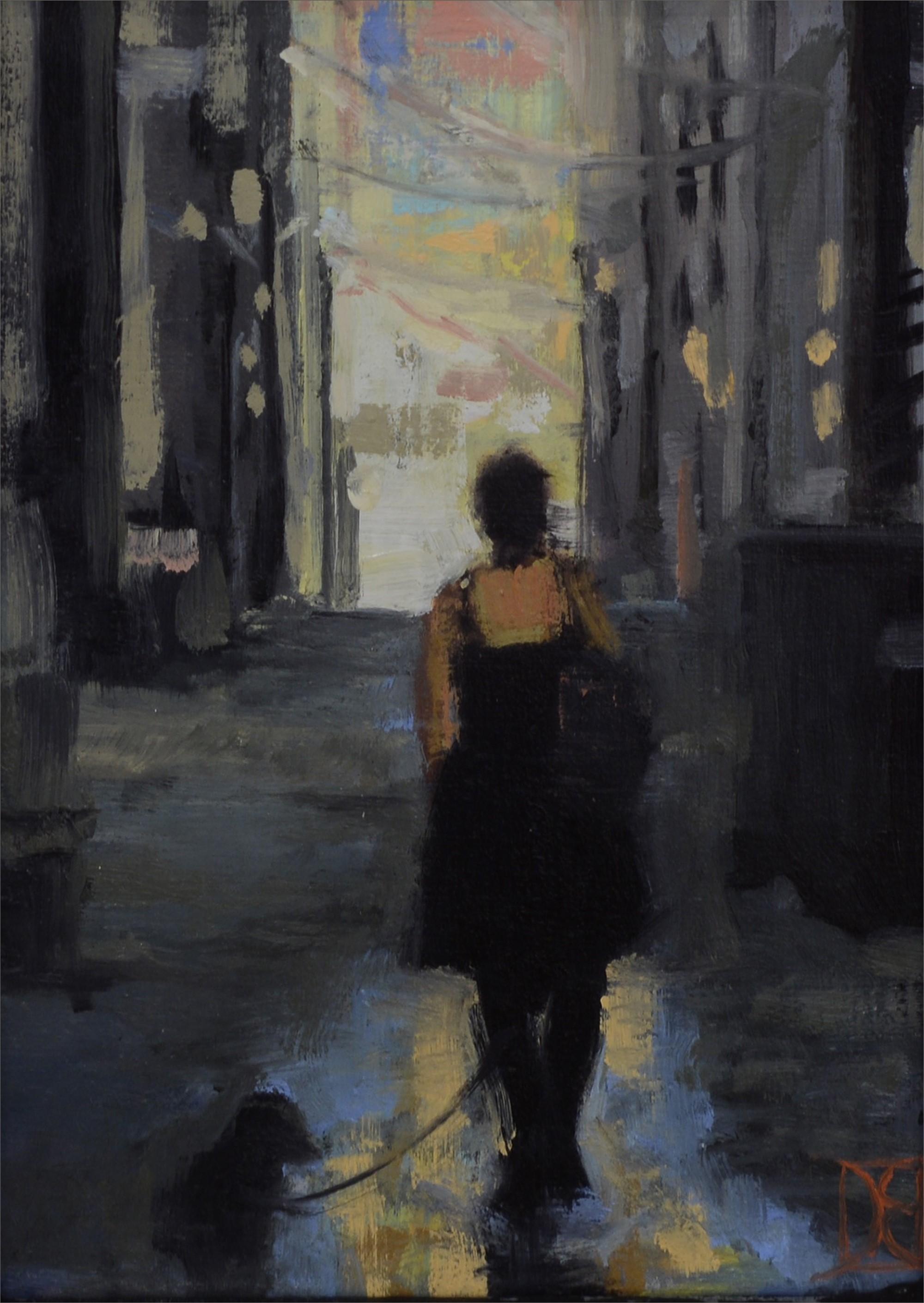 Jen in Alley by Destiny Bowman