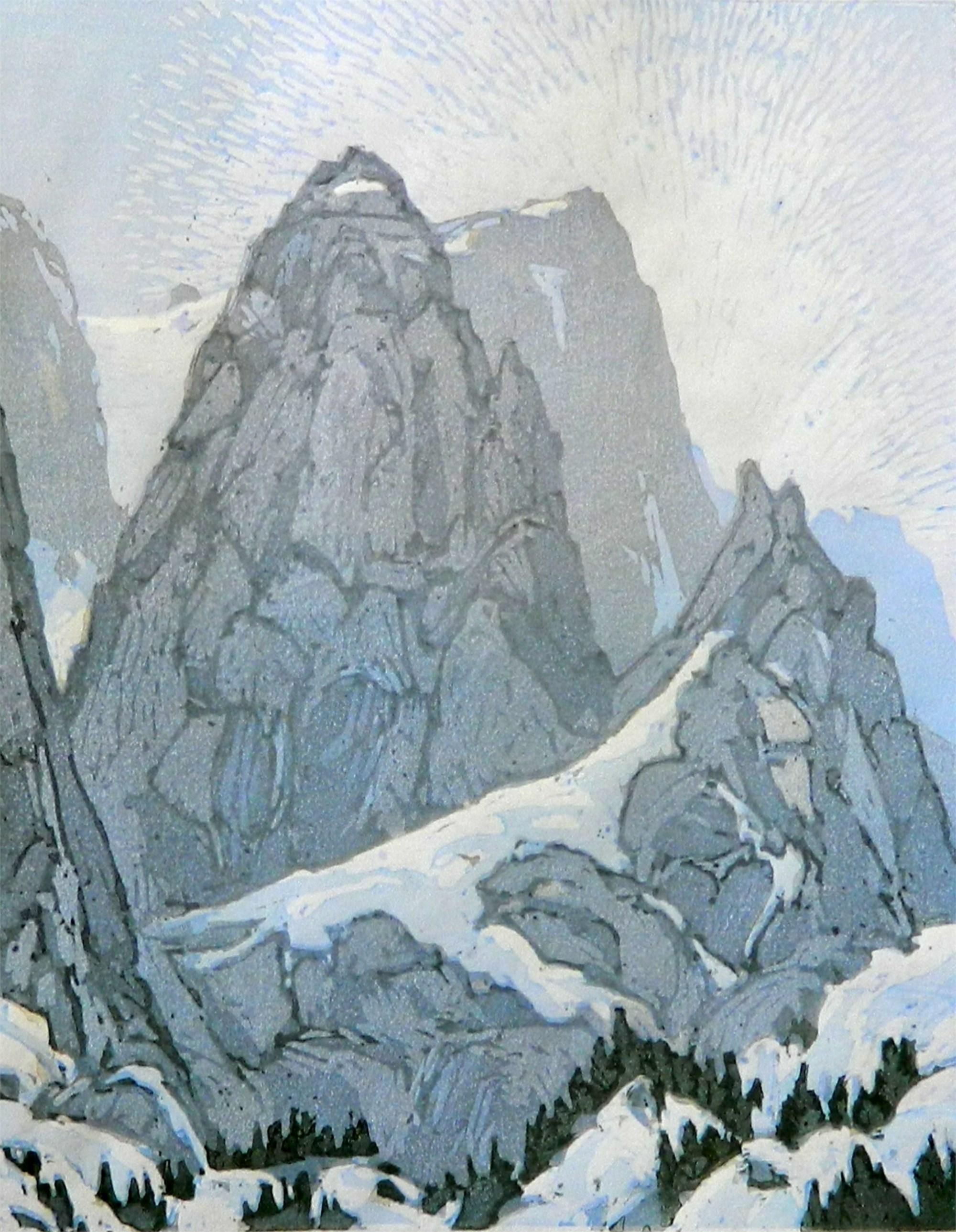 Peak Study by Leon Loughridge