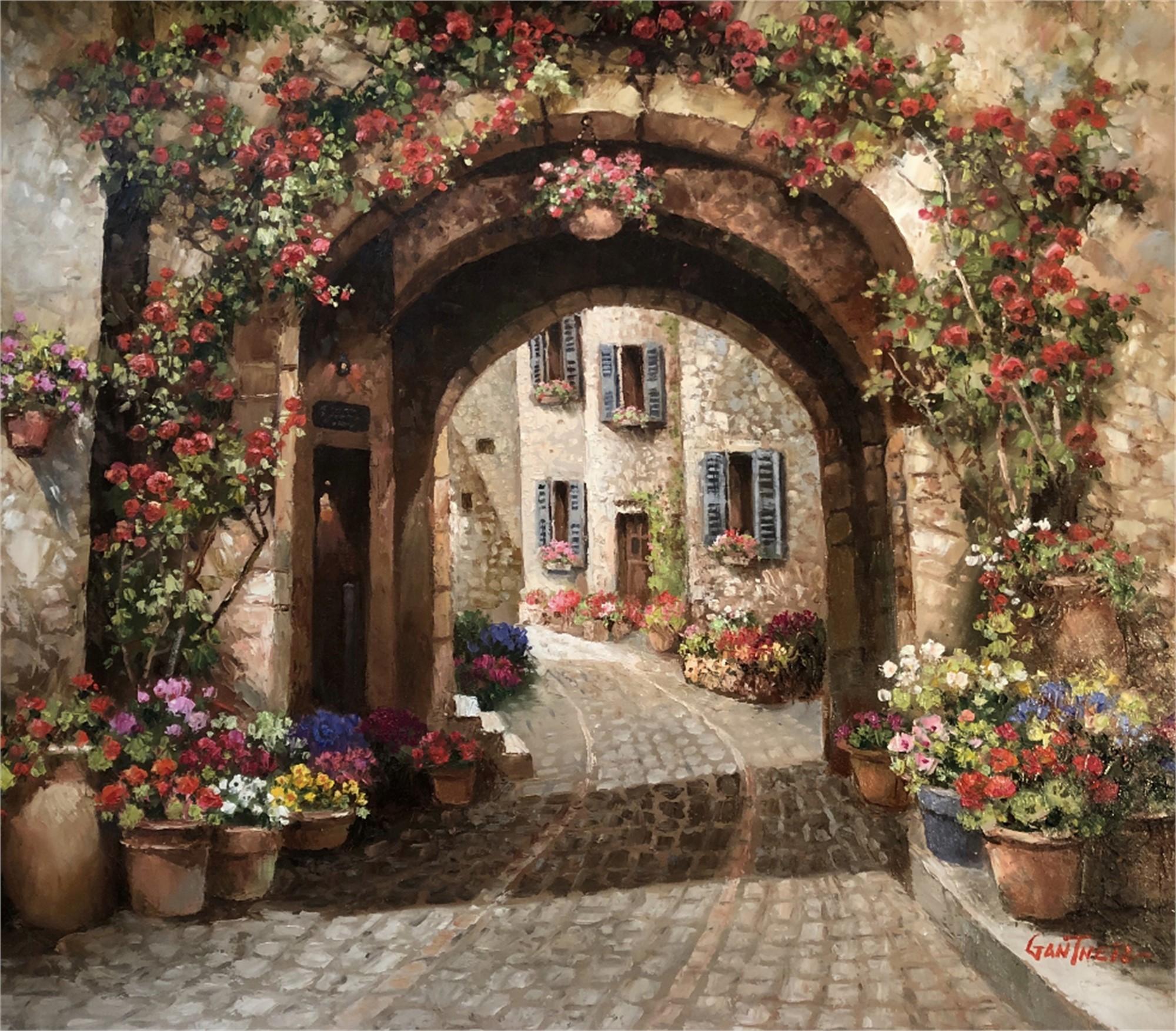 Romance in Tuscany by GANTNER