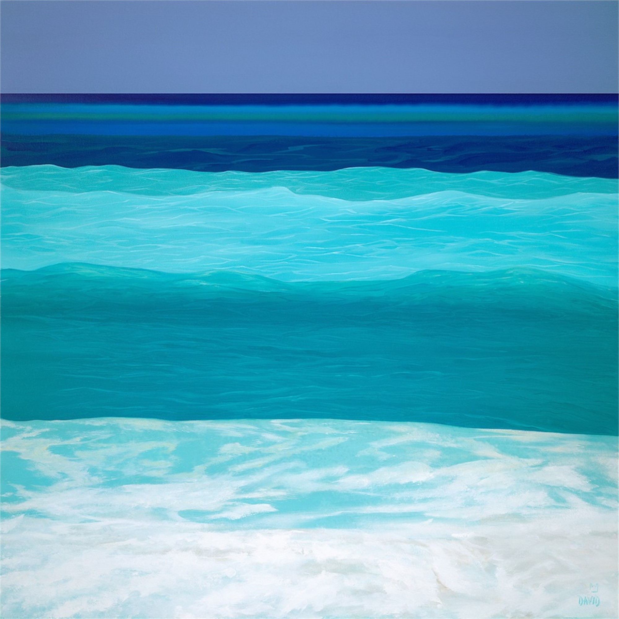 Blue Seas by David Jonathan Marshall