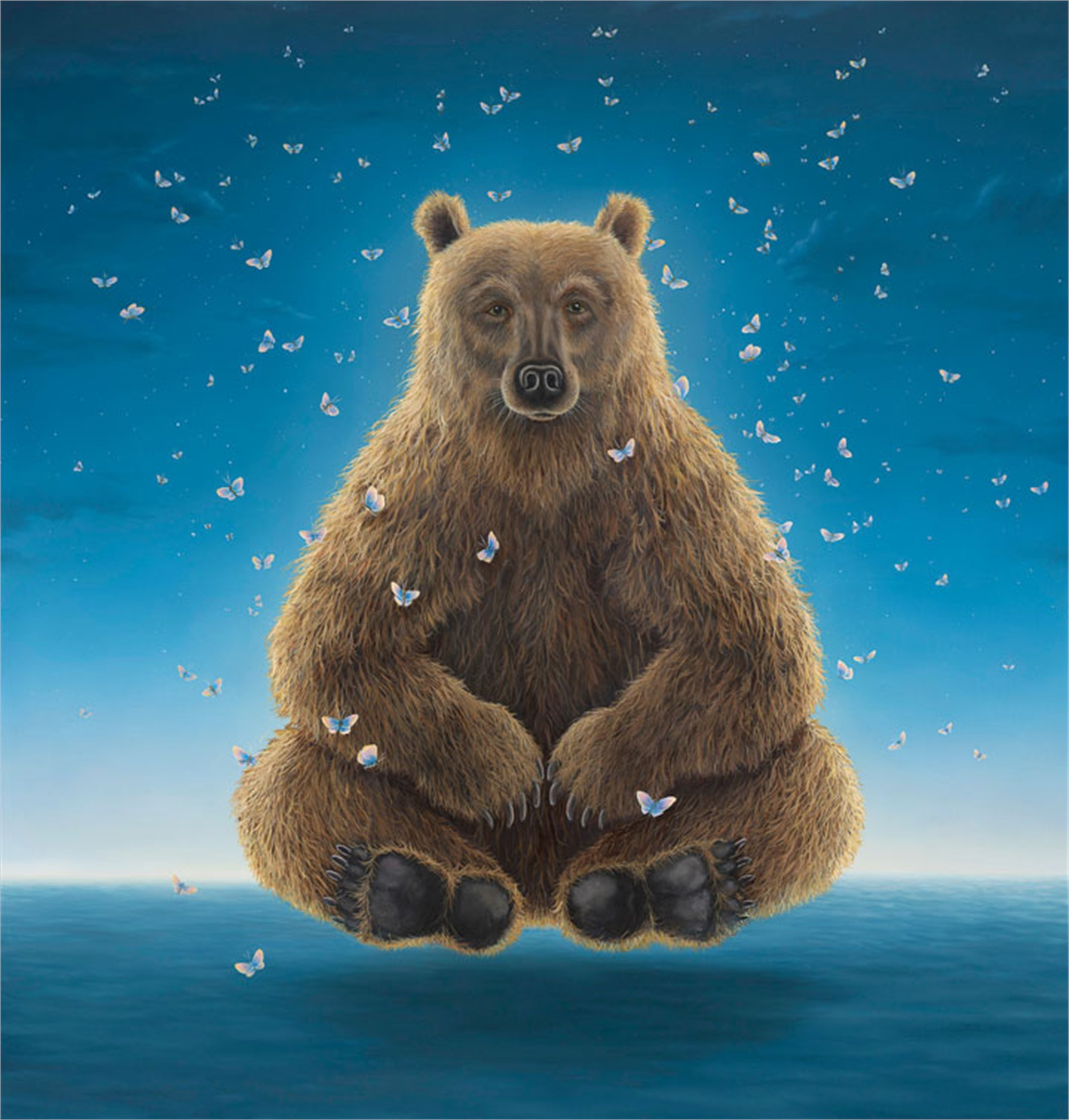 Sage Of The Night (Small Works) by Robert Bissell