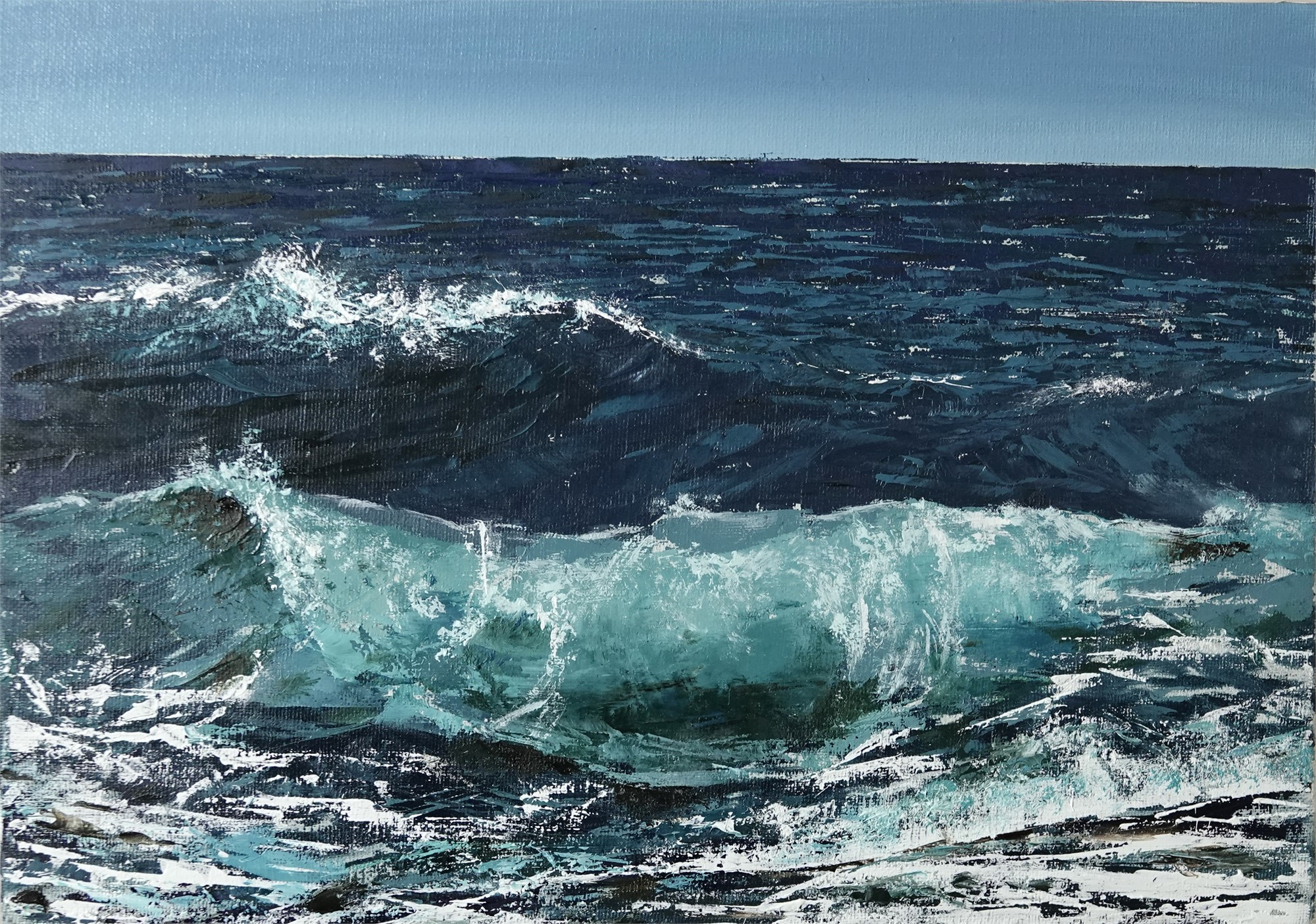 Fresh Waves by Silvia Belviso