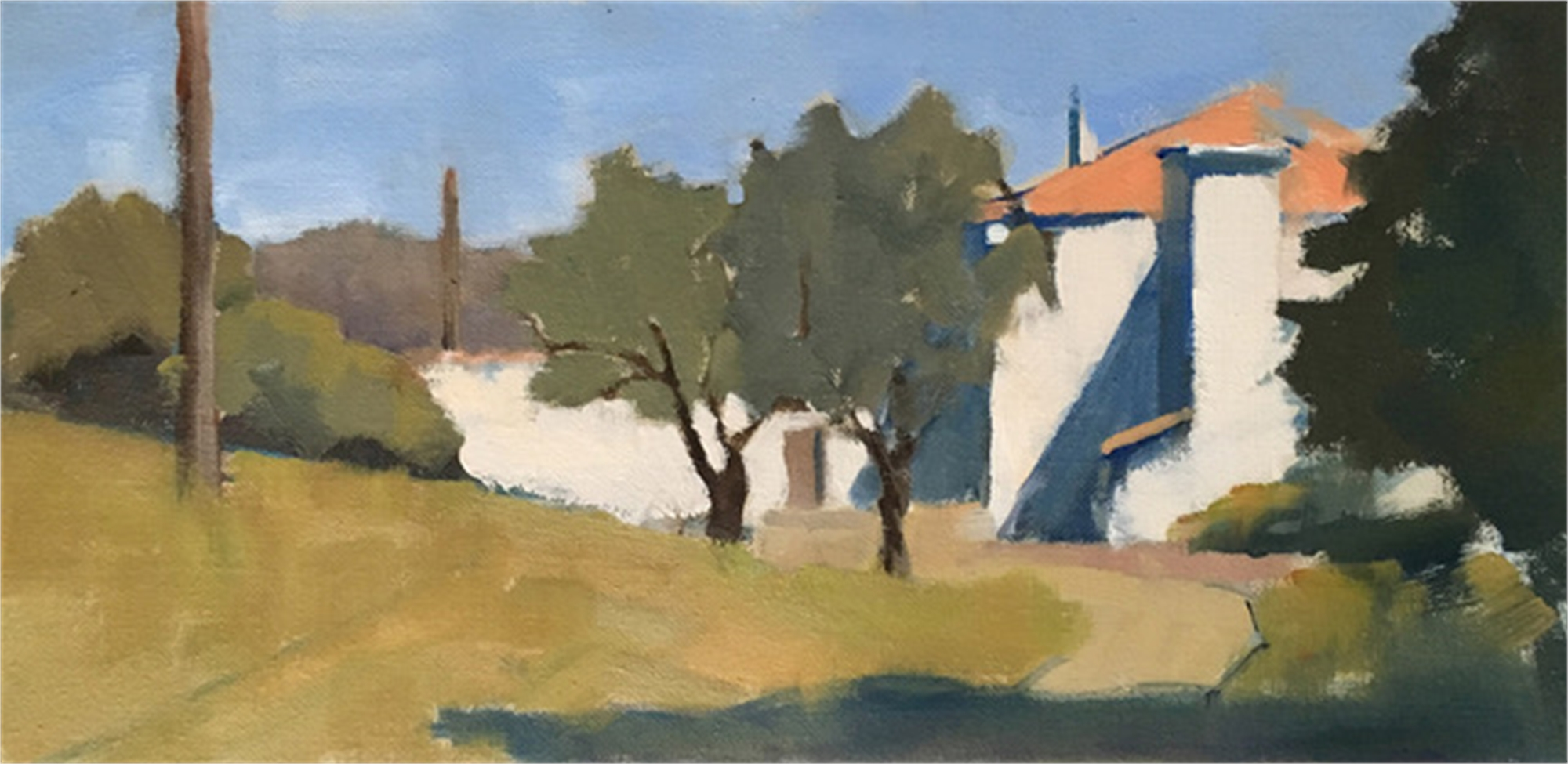 Villa View by Lesley Powell
