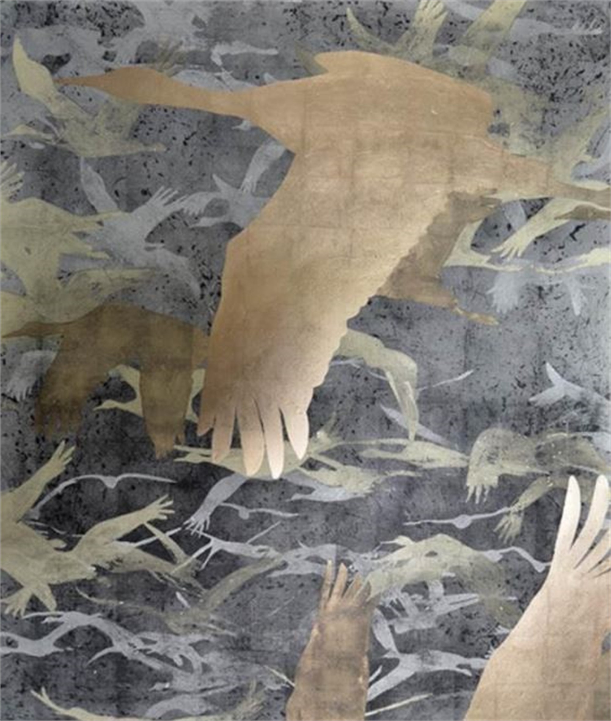 Silence Settles On The Wing II, 2017 by Thomas Swanston