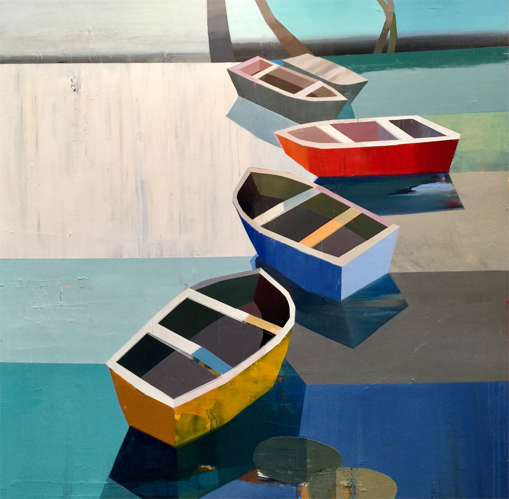 Colorful Boats in the Bay by Siddharth Parasnis