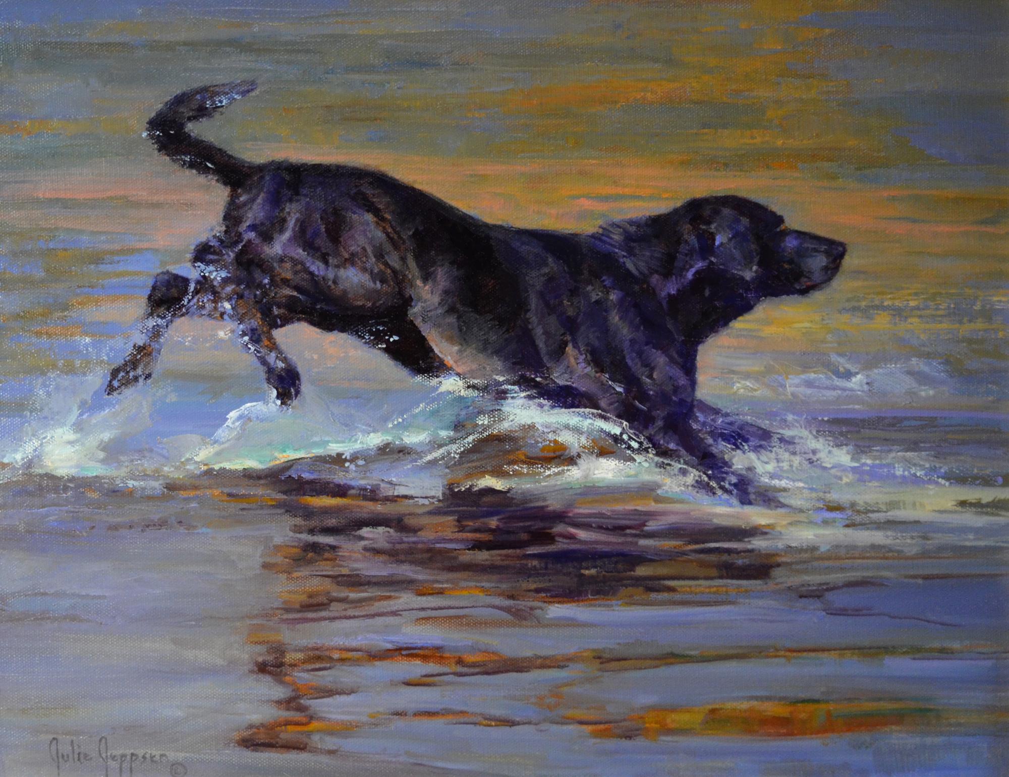 Black Splash by Julie Jeppsen