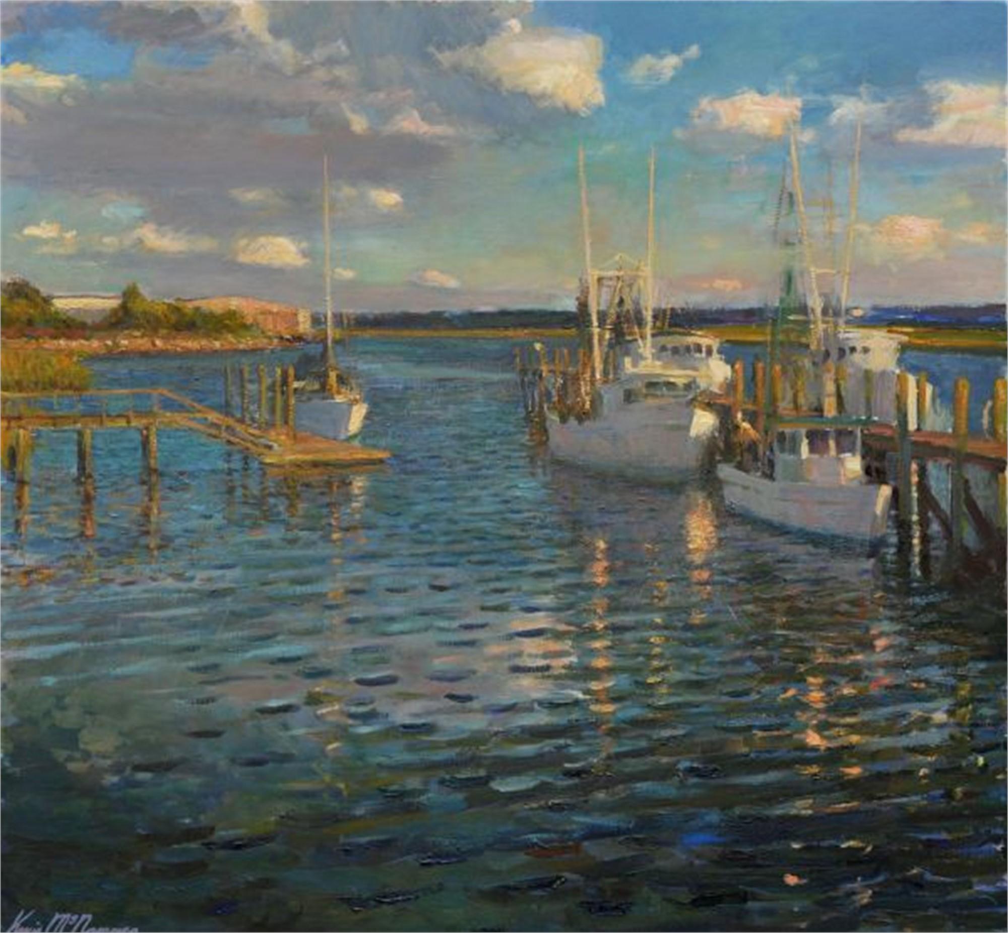 Harbor River by Kevin McNamara