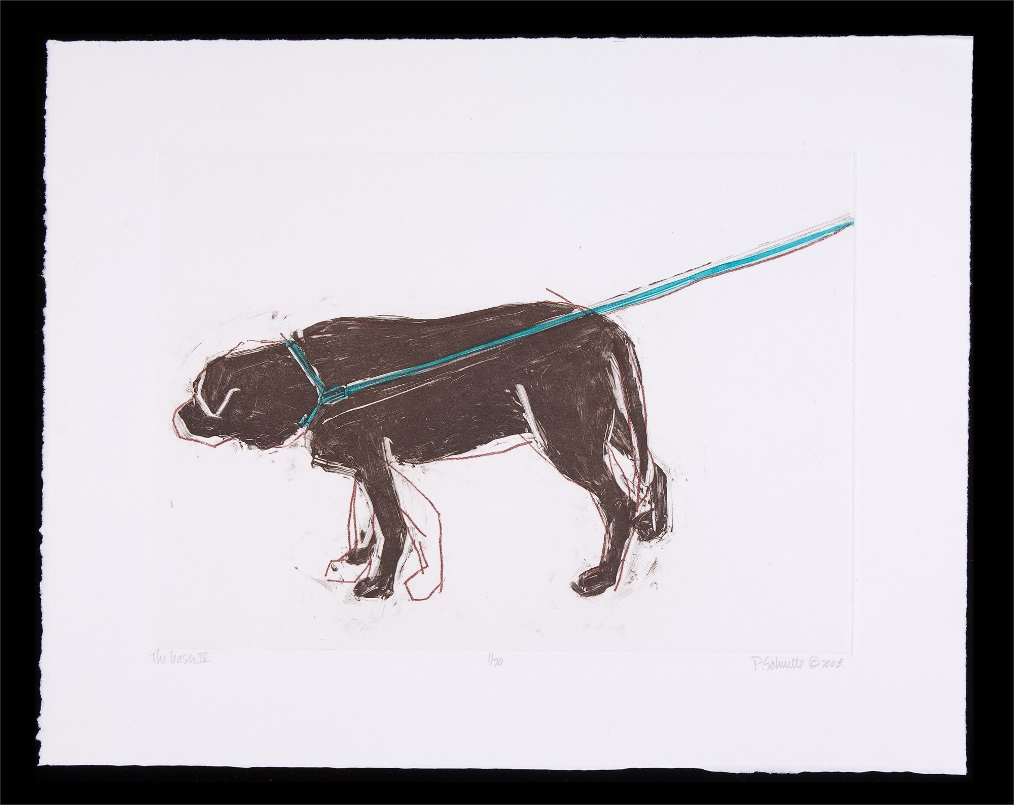 The Leash IV by Paula Schuette Kraemer