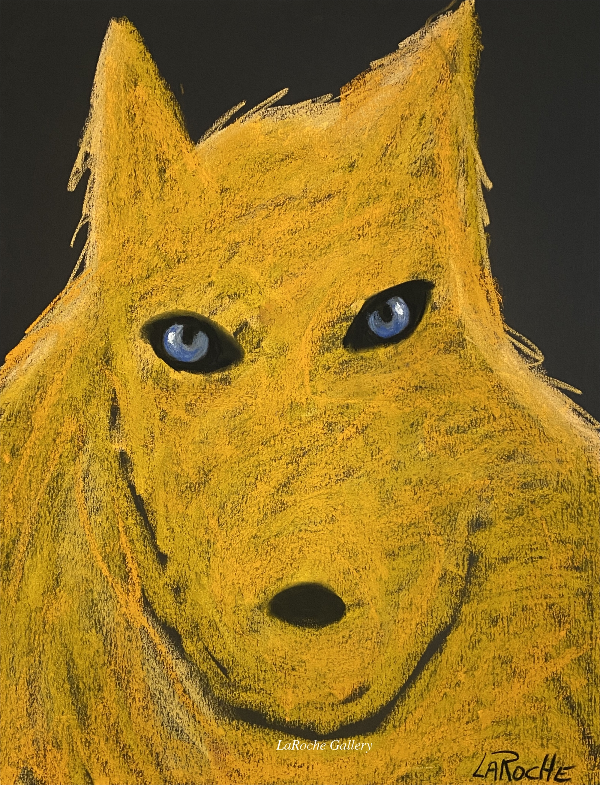 THE PACK: GOLDEN WOLF by Carole LaRoche