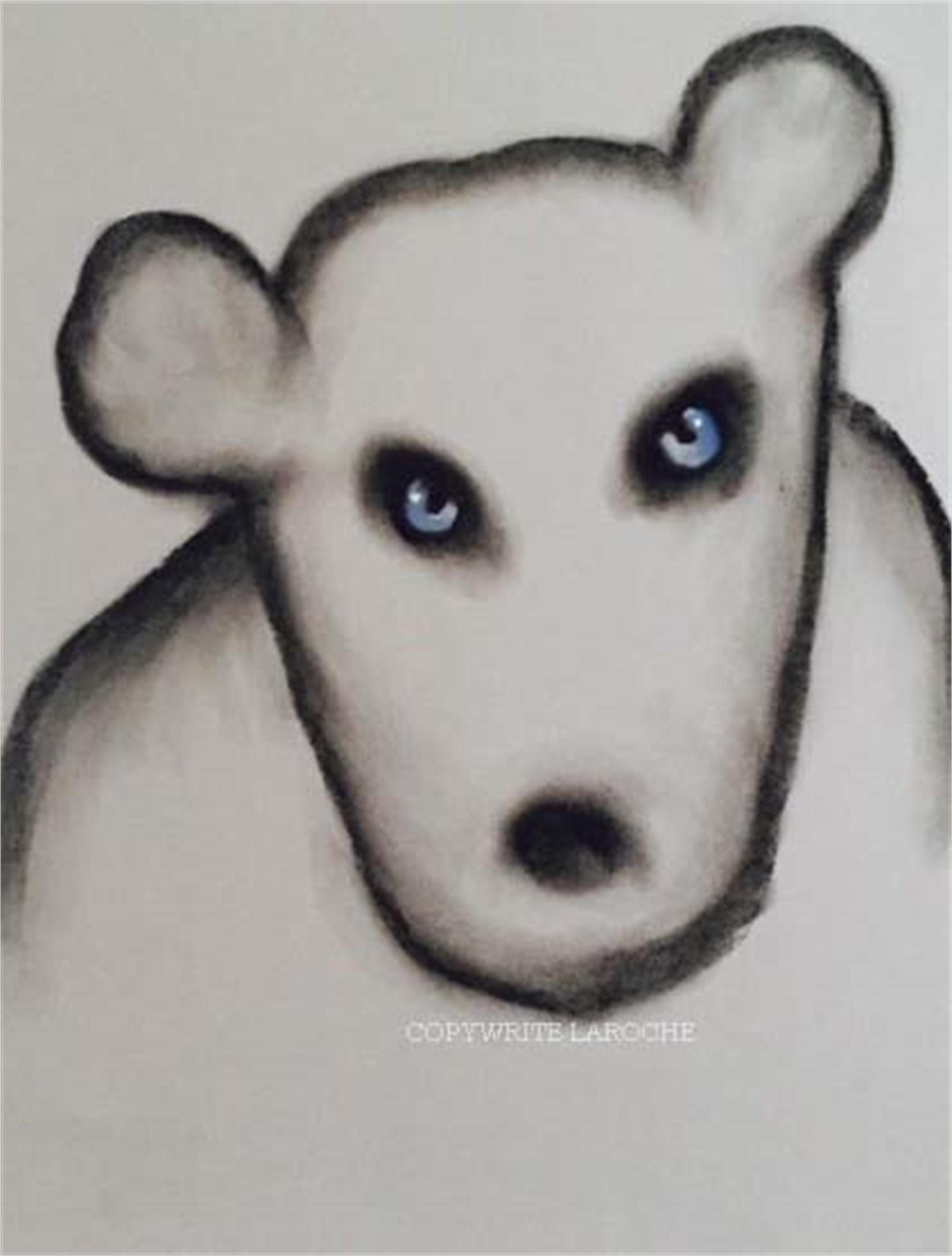 THE VISITORS/BEAR V by Carole LaRoche