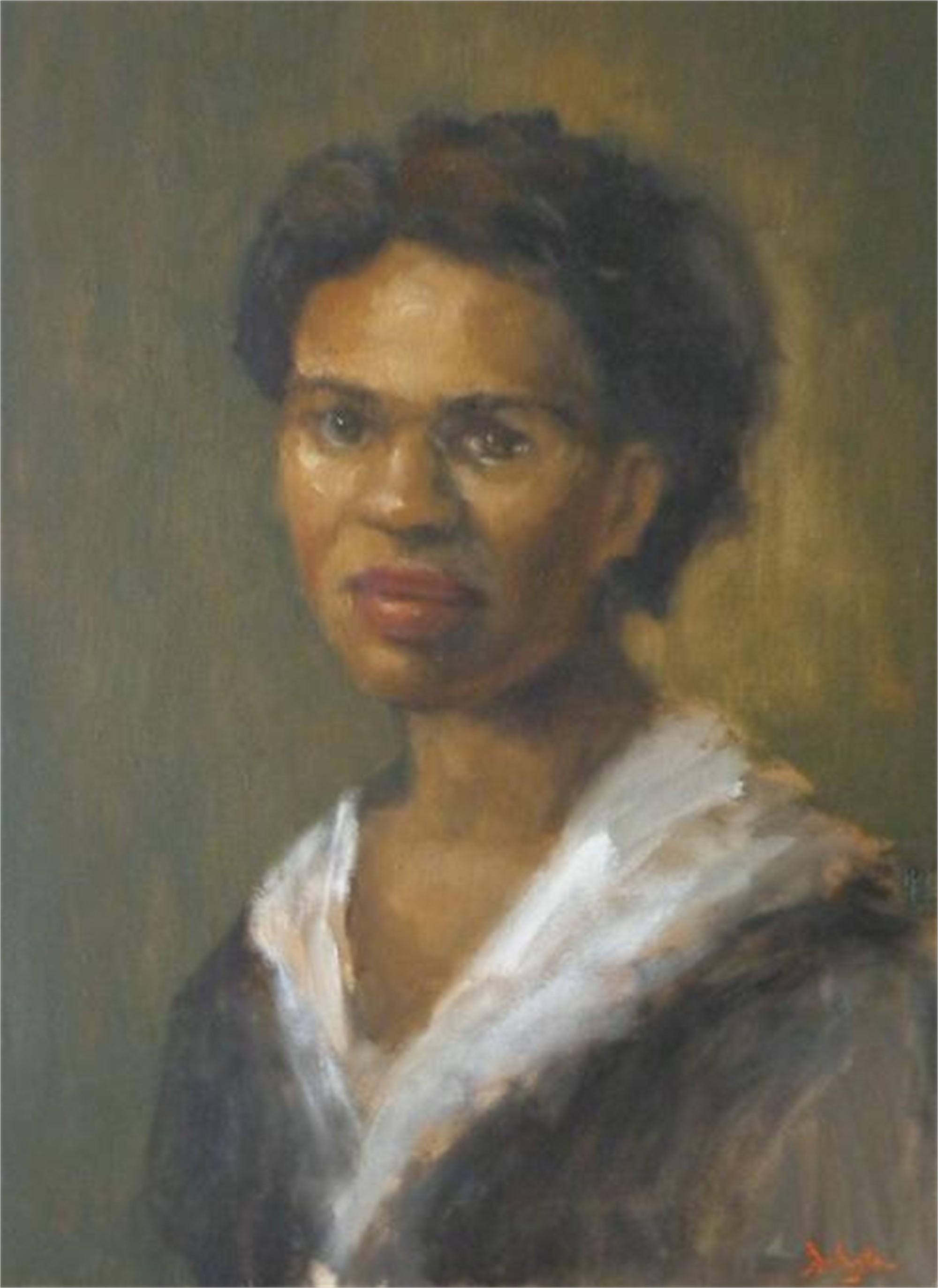Portrait of Mary by Jim Darlington