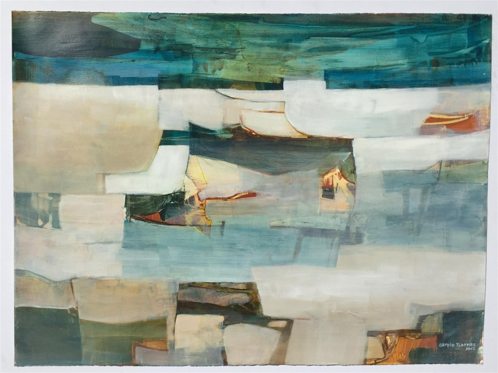 Seaside Solitude by Carole Barnes