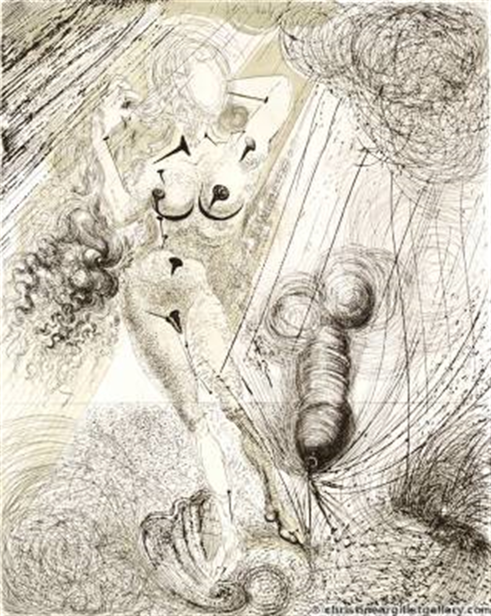 "Mythology ""Birth of Venus"" by Salvador Dali"