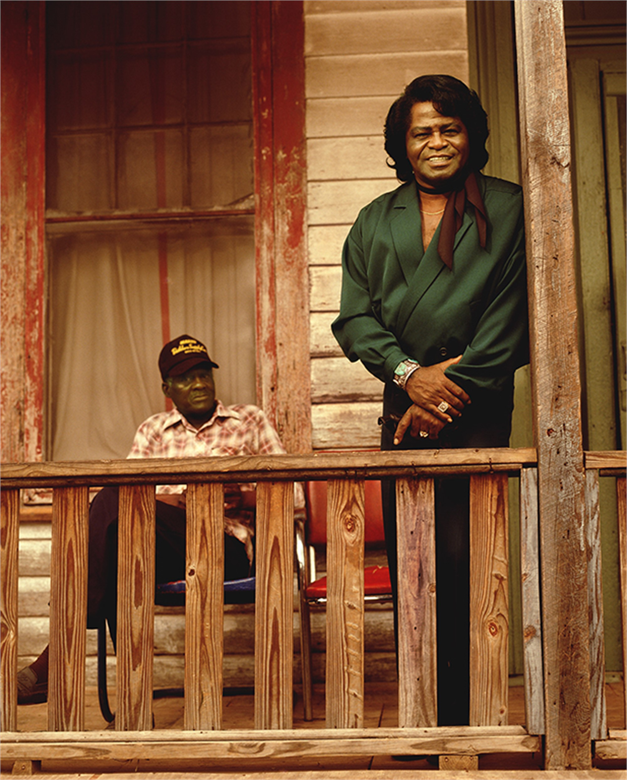 91046 James Brown On The Porch Color by Timothy White