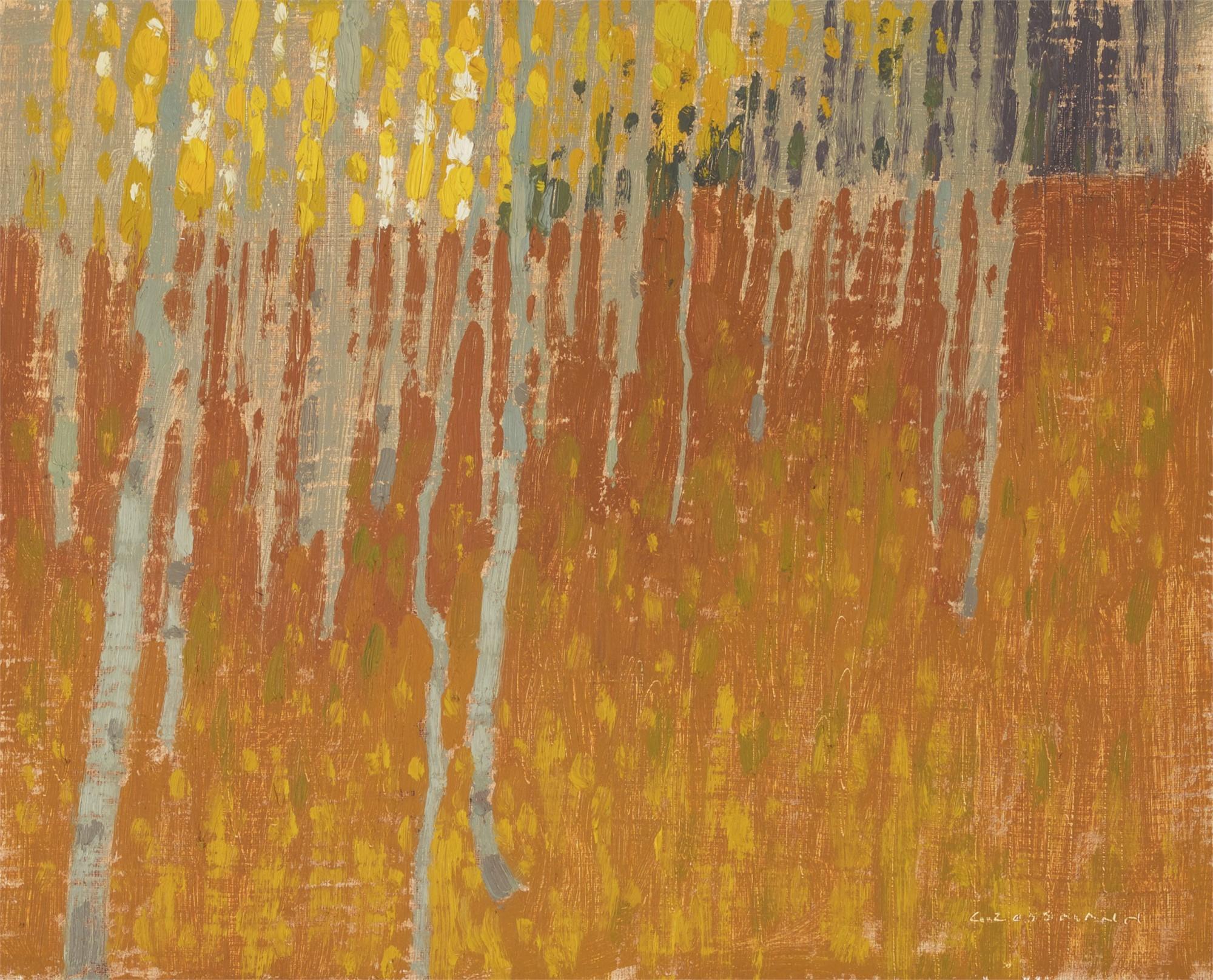 Warmth of Fallen Leaves by David Grossmann