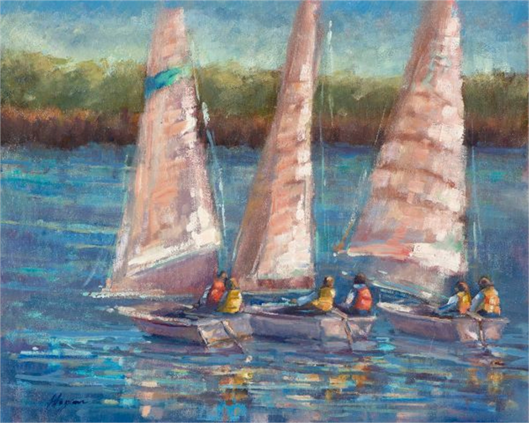 Afternoon Sail by Karen Hewitt Hagan