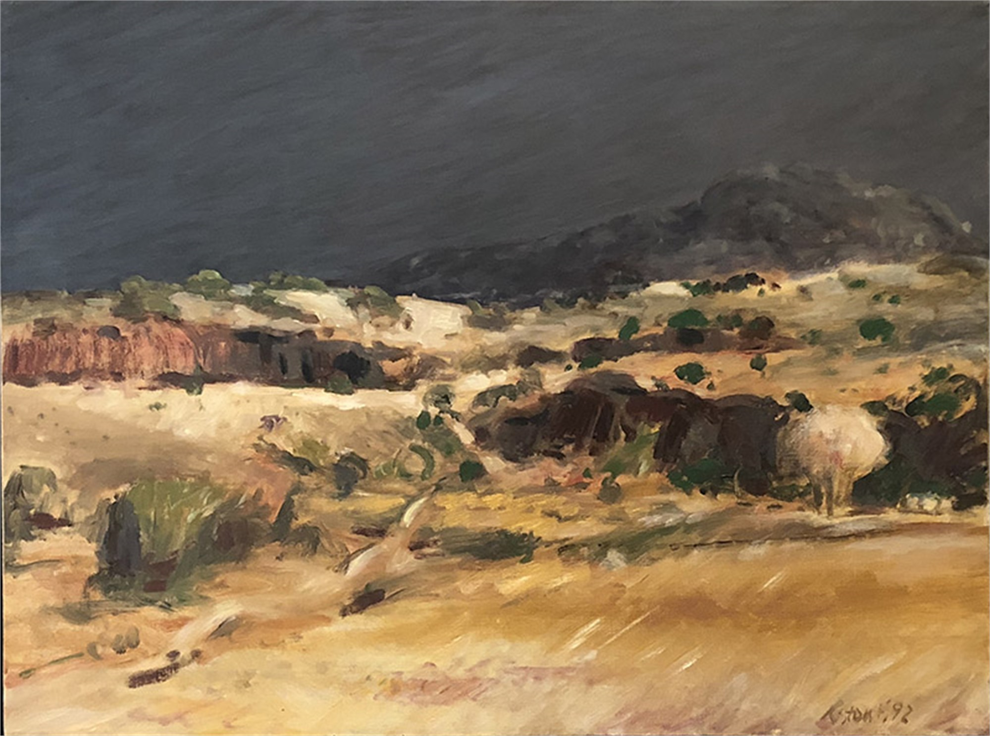 Untitled, Big Bend by Richard Stout - Early Works