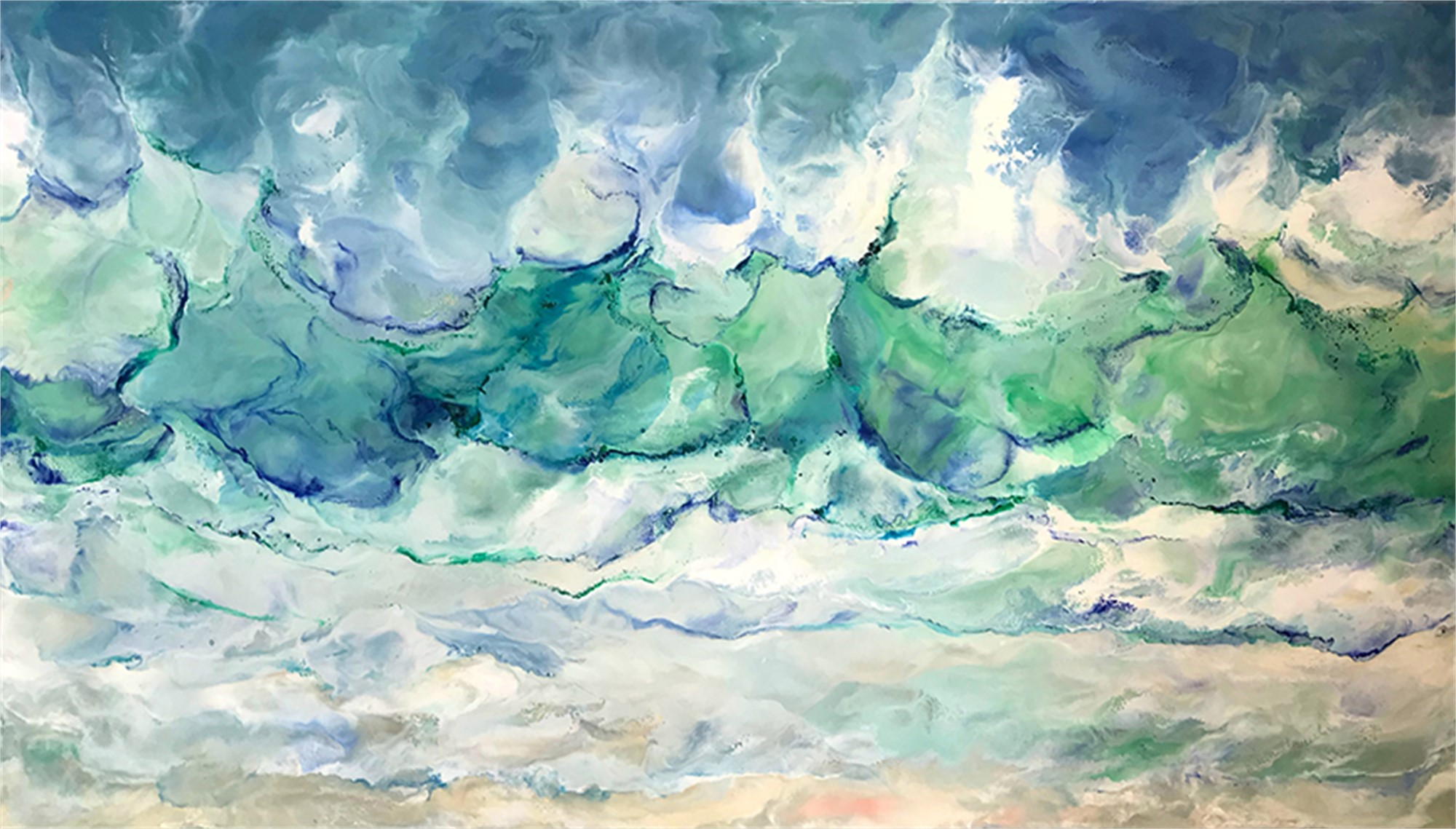 Sea Song by Ruth Hamill
