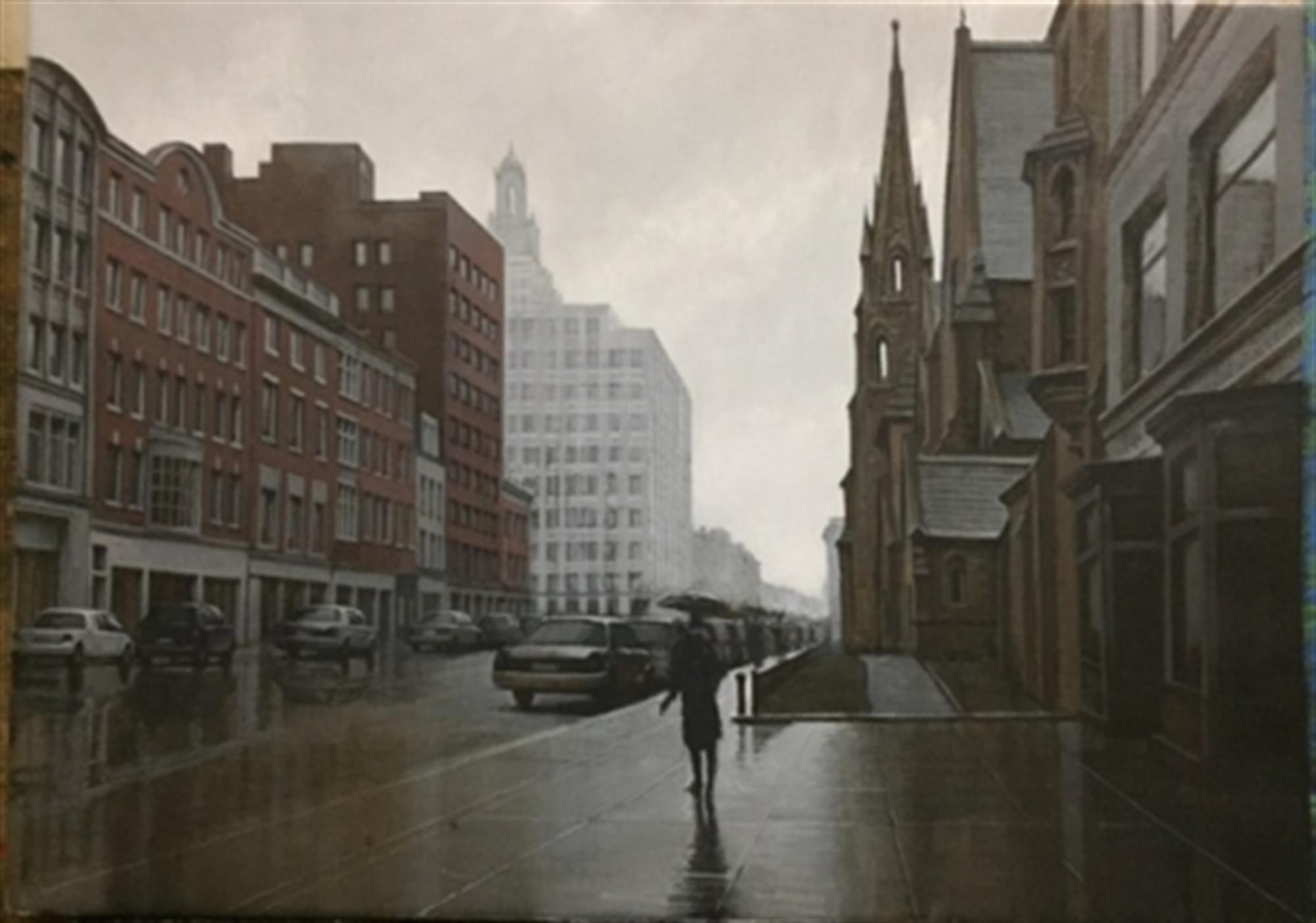 Boston Rain by Alexei Butirskiy