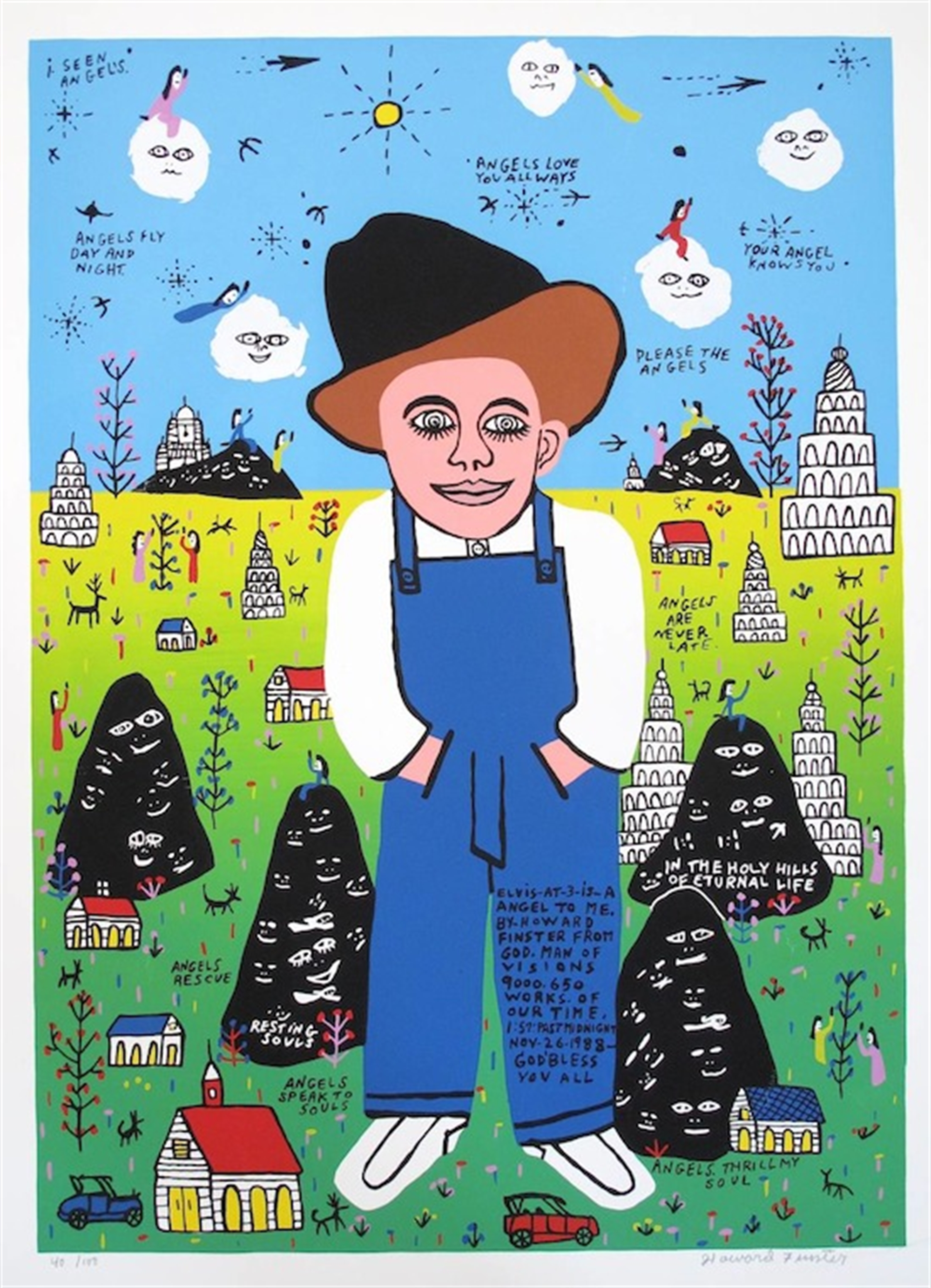 Baby Elvis by Howard Finster