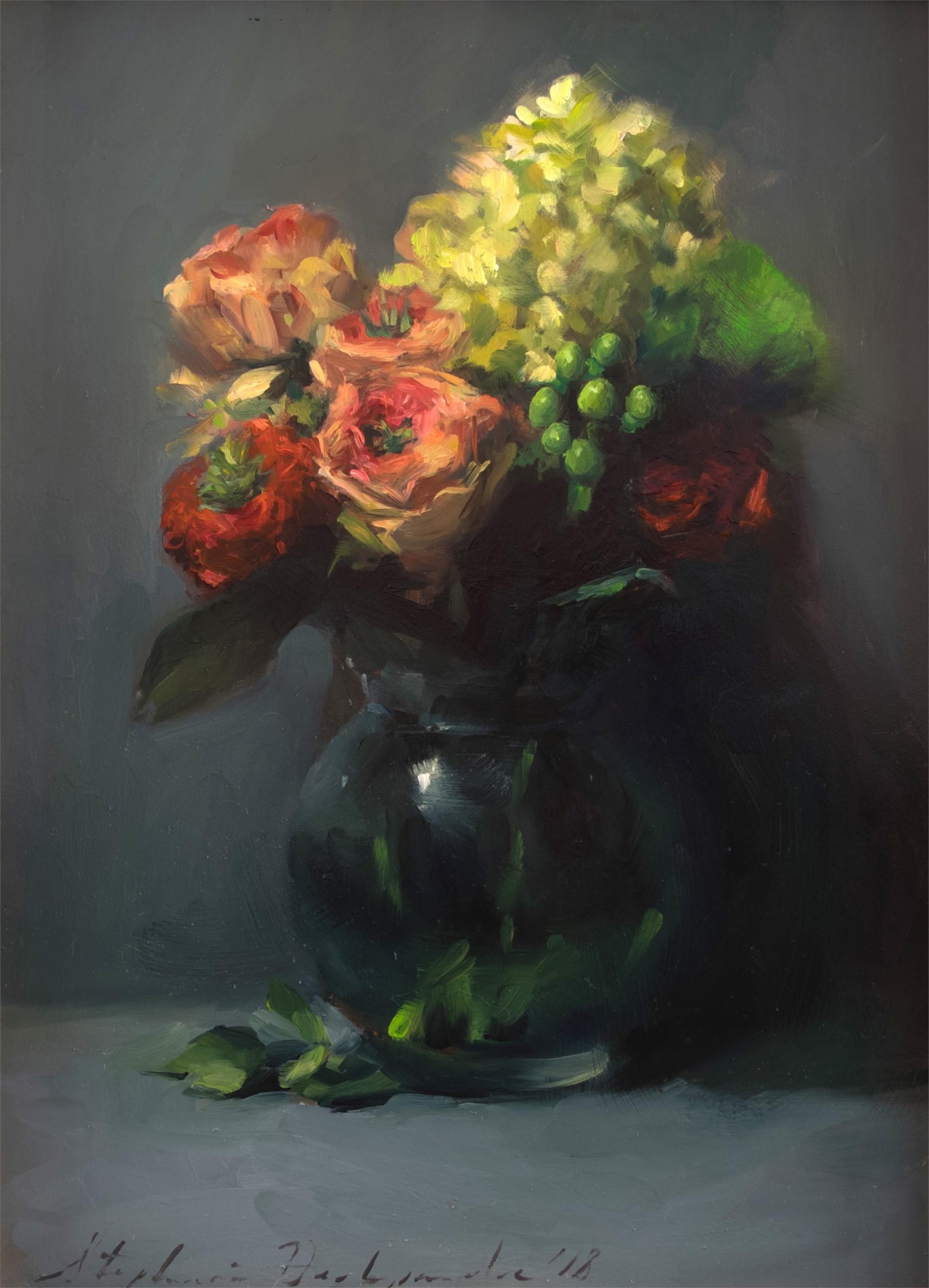 Grassy Eye Bouquet by Stephanie Deshpande