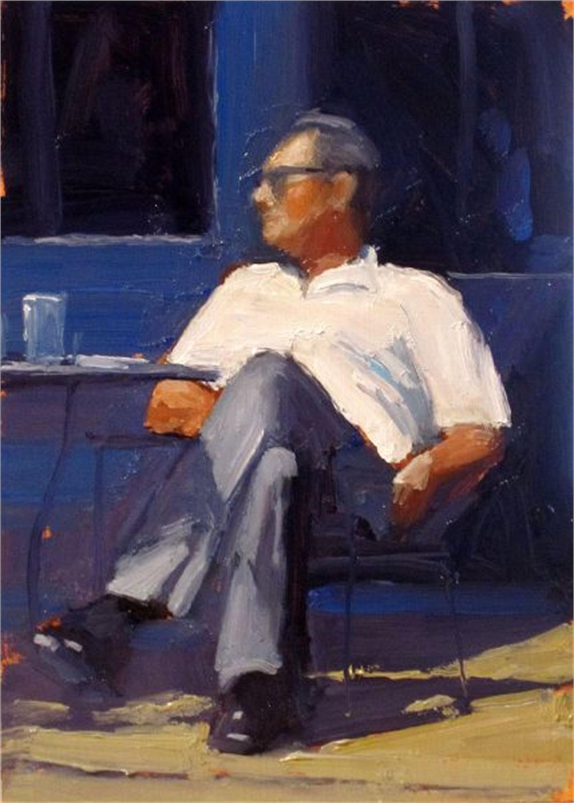 Seated Man by Dan Graziano
