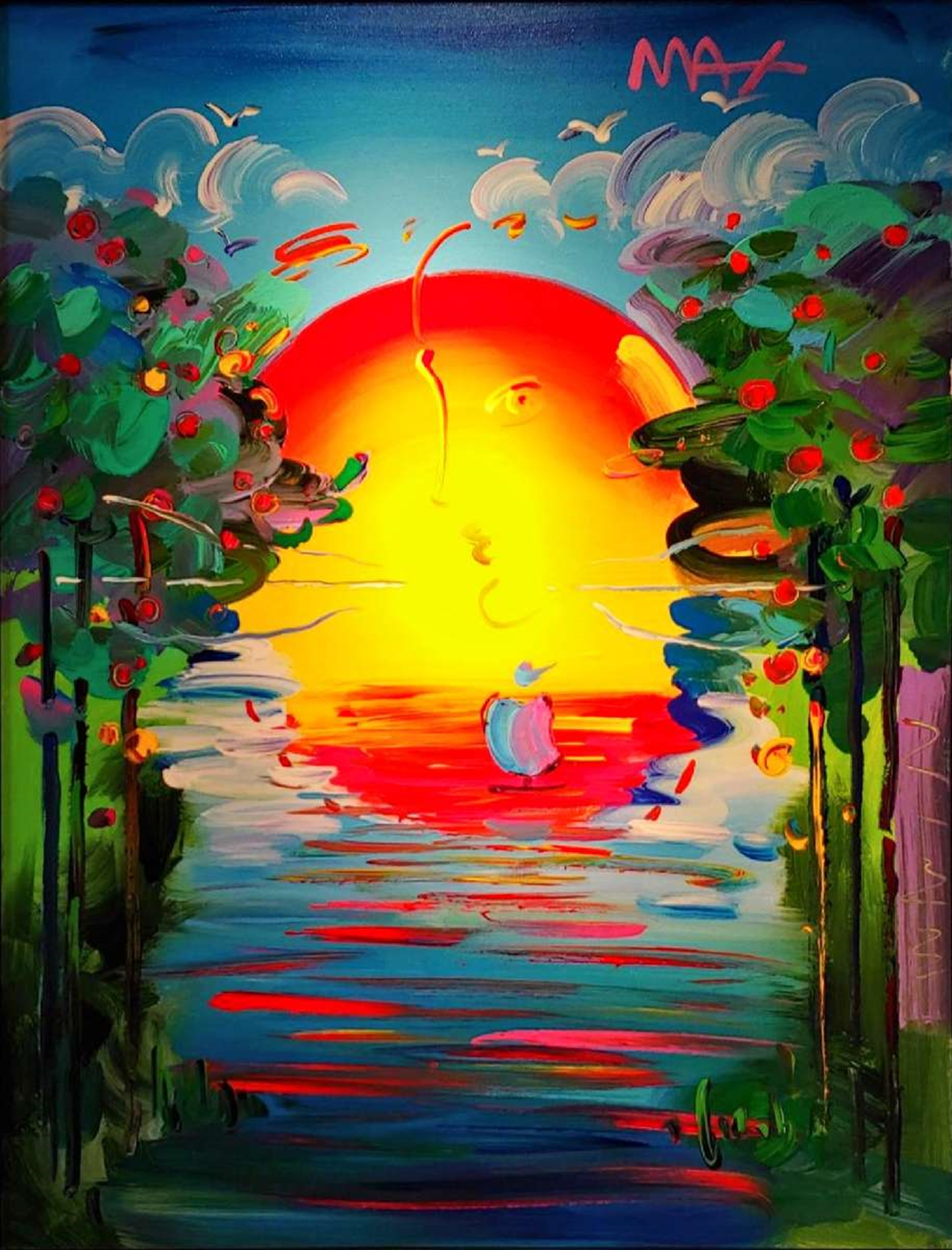 BETTER WORLD by Peter Max