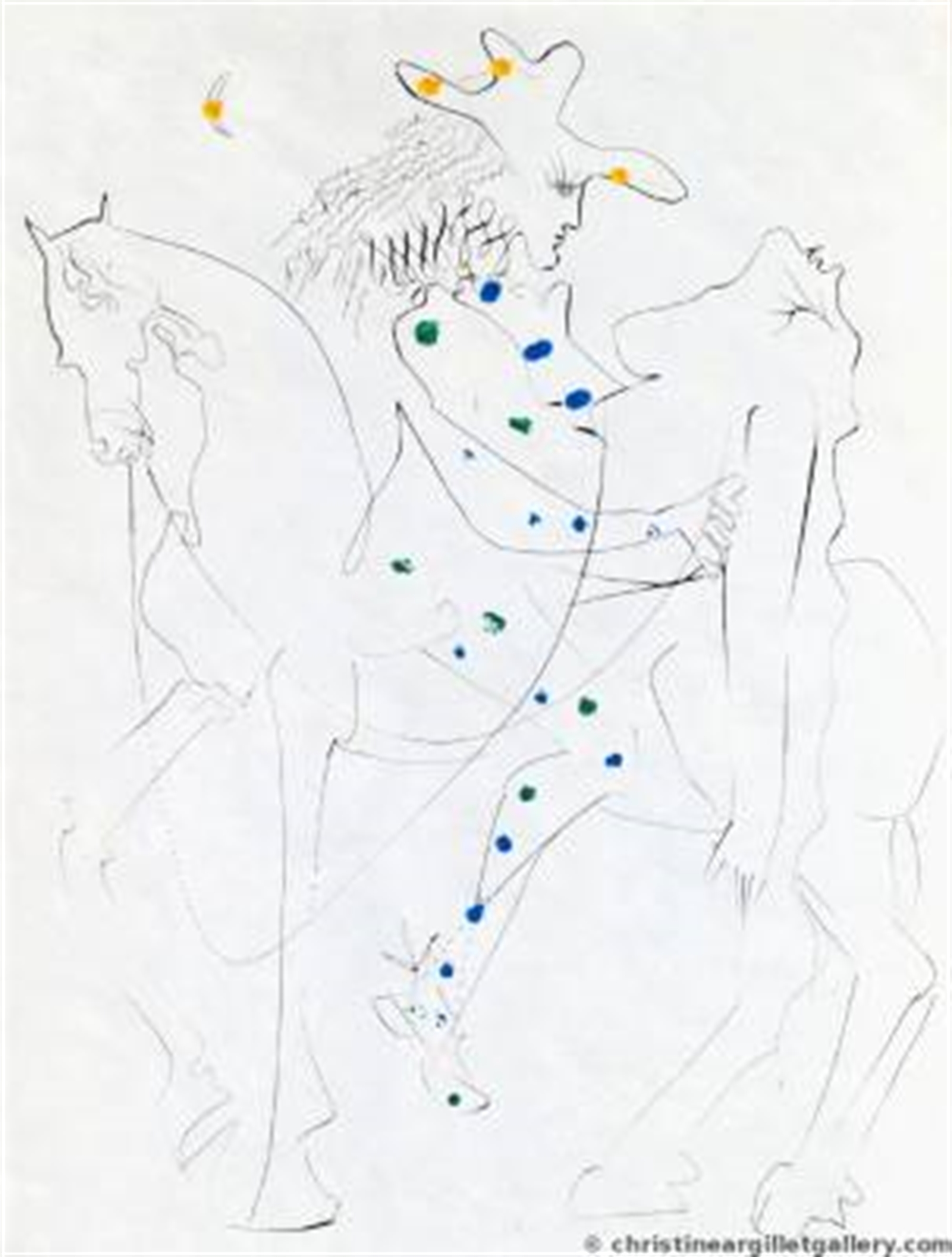 "Ronsard ""Picasso's Horse"" by Salvador Dali"