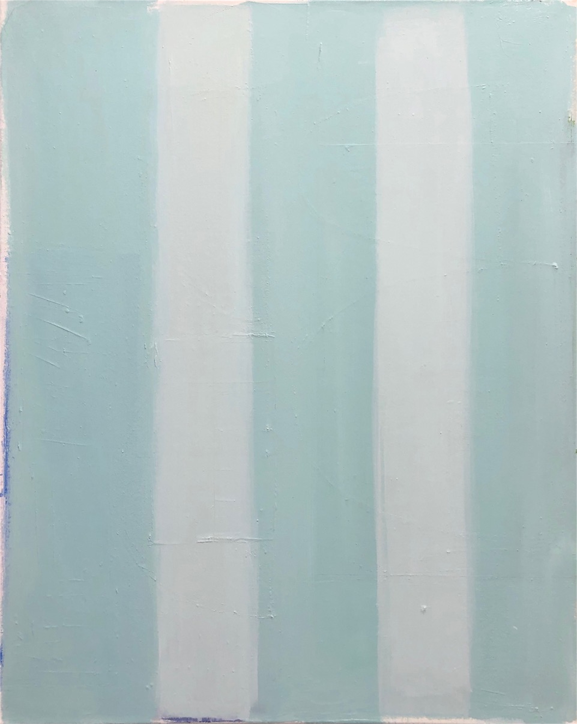 Stripes in Turquoise by Laurie Fisher