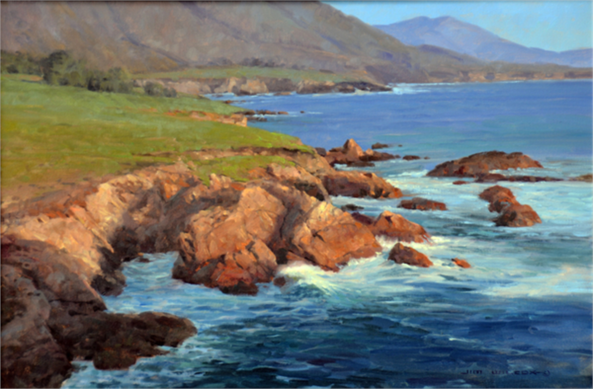 Rocky Point South by Jim Wilcox