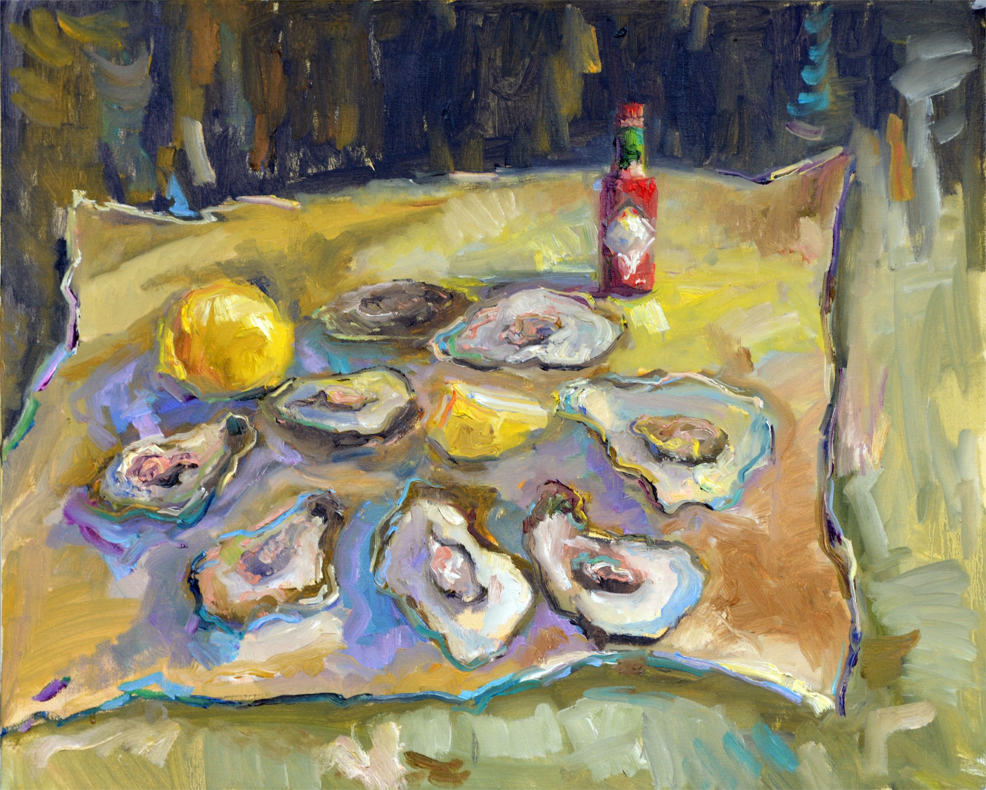 Oysters and Hot Sauce by Karen Hewitt Hagan