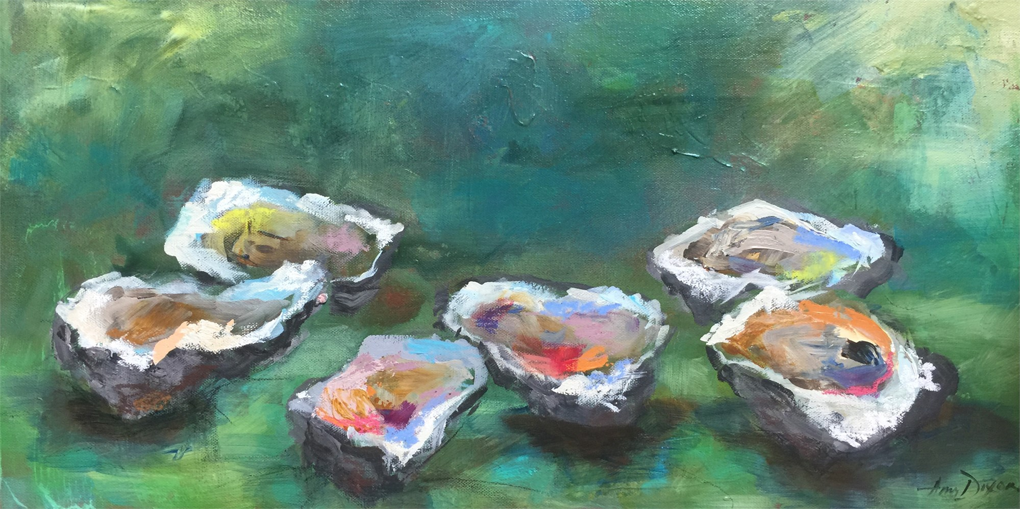 Oysters Organic by Amy Dixon