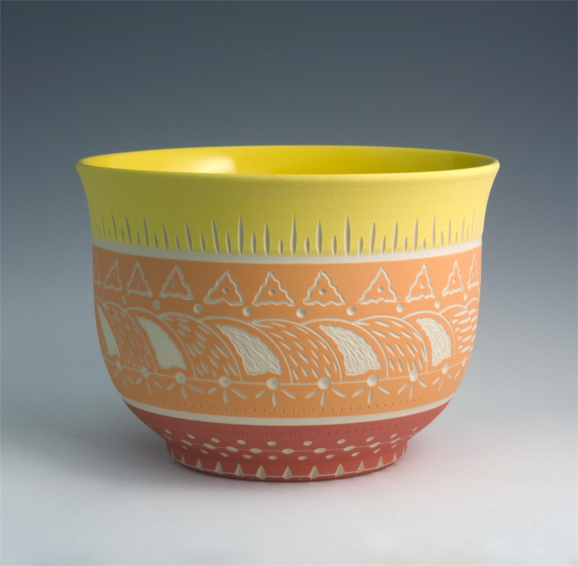 Bowl (Yellow/Orange) by Chris Casey