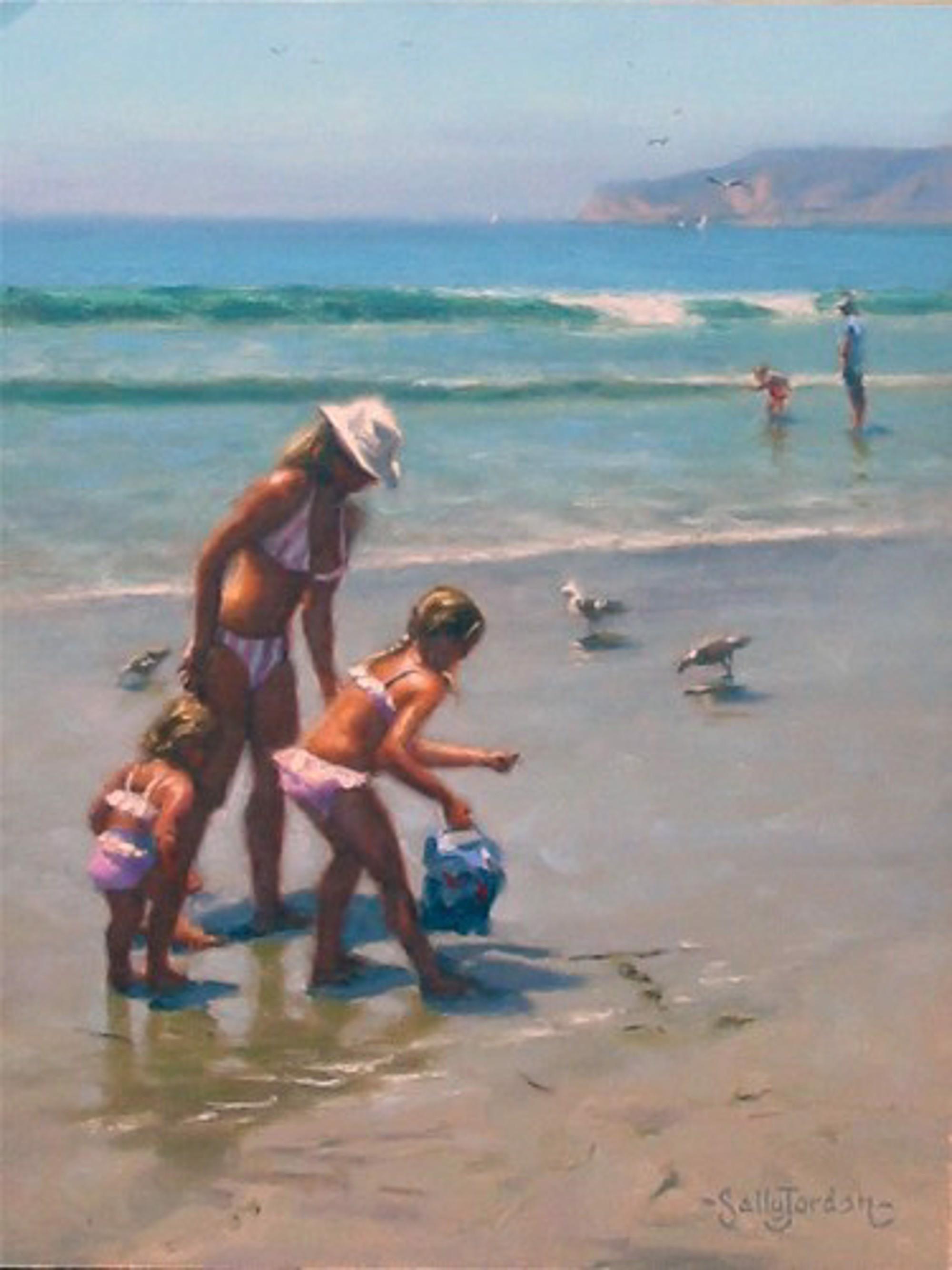 BEACH SCENE by JORDAN
