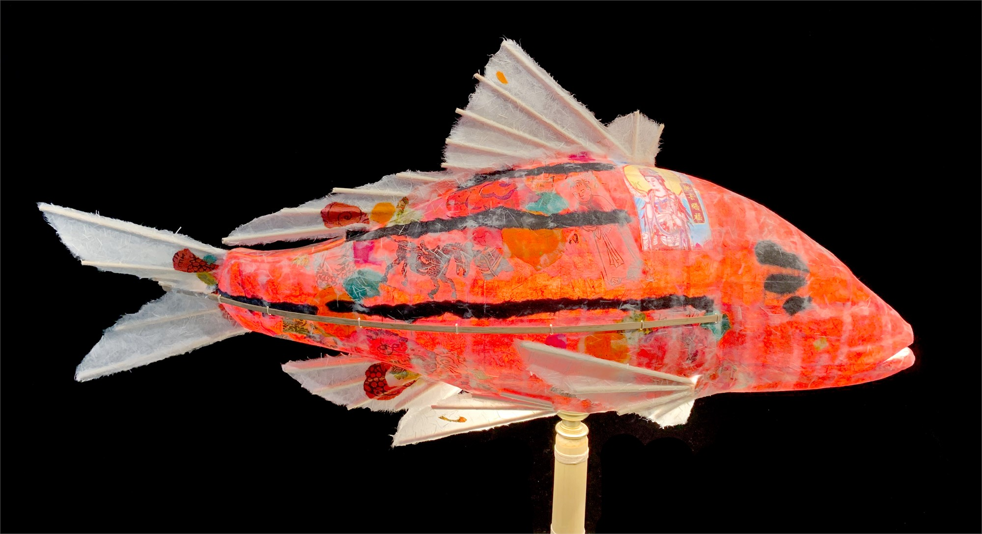 Red Striped Bass by Elaine Hanowell