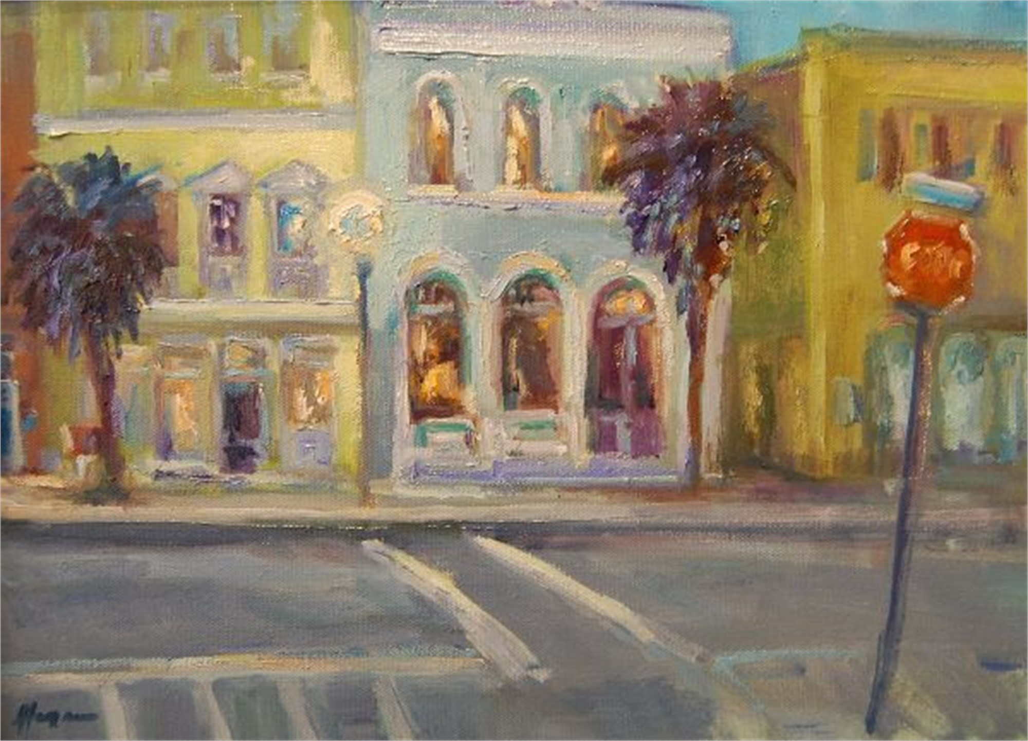 Lights on Broad by Karen Hewitt Hagan