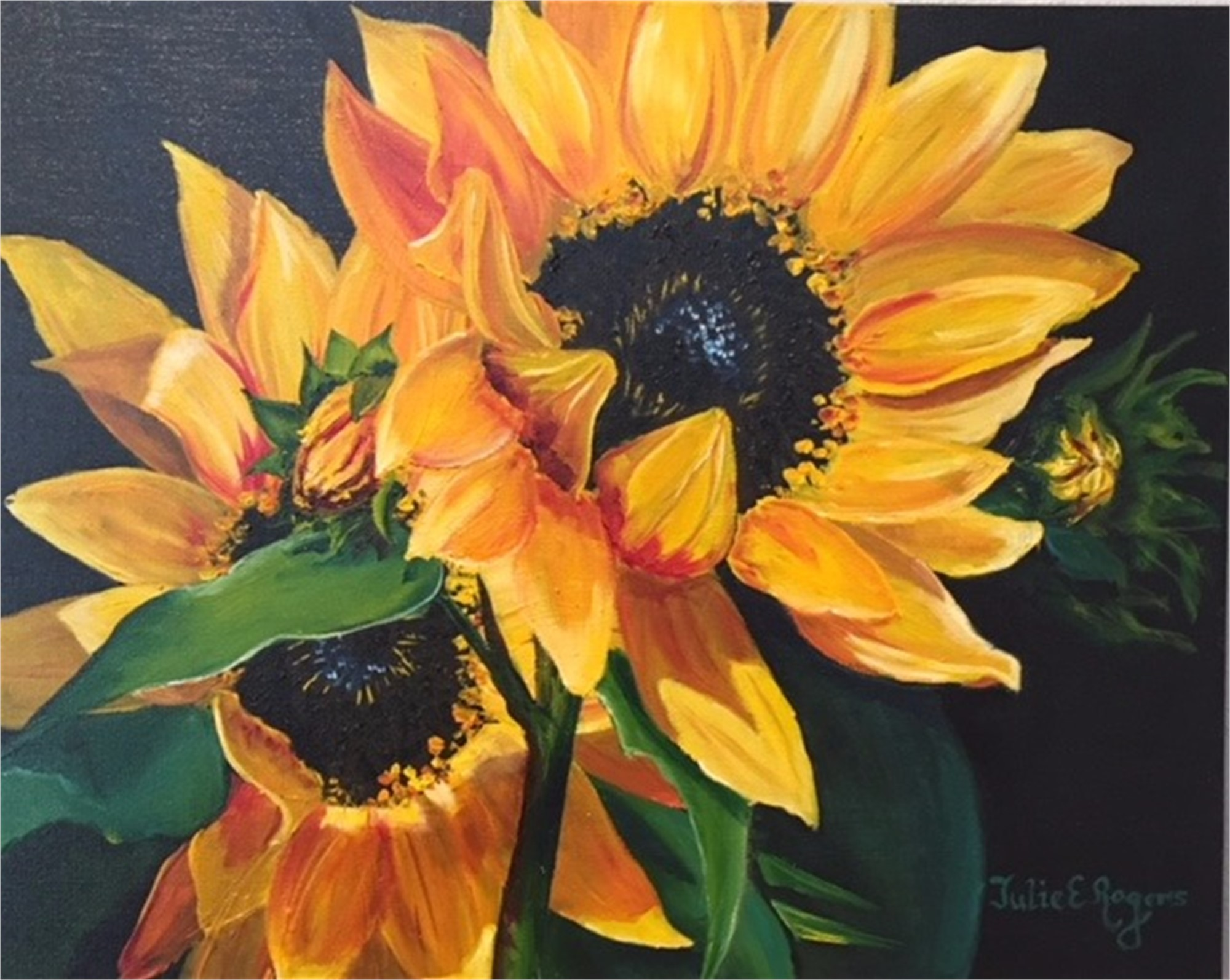 Sunflowers #6 by Julie Rogers