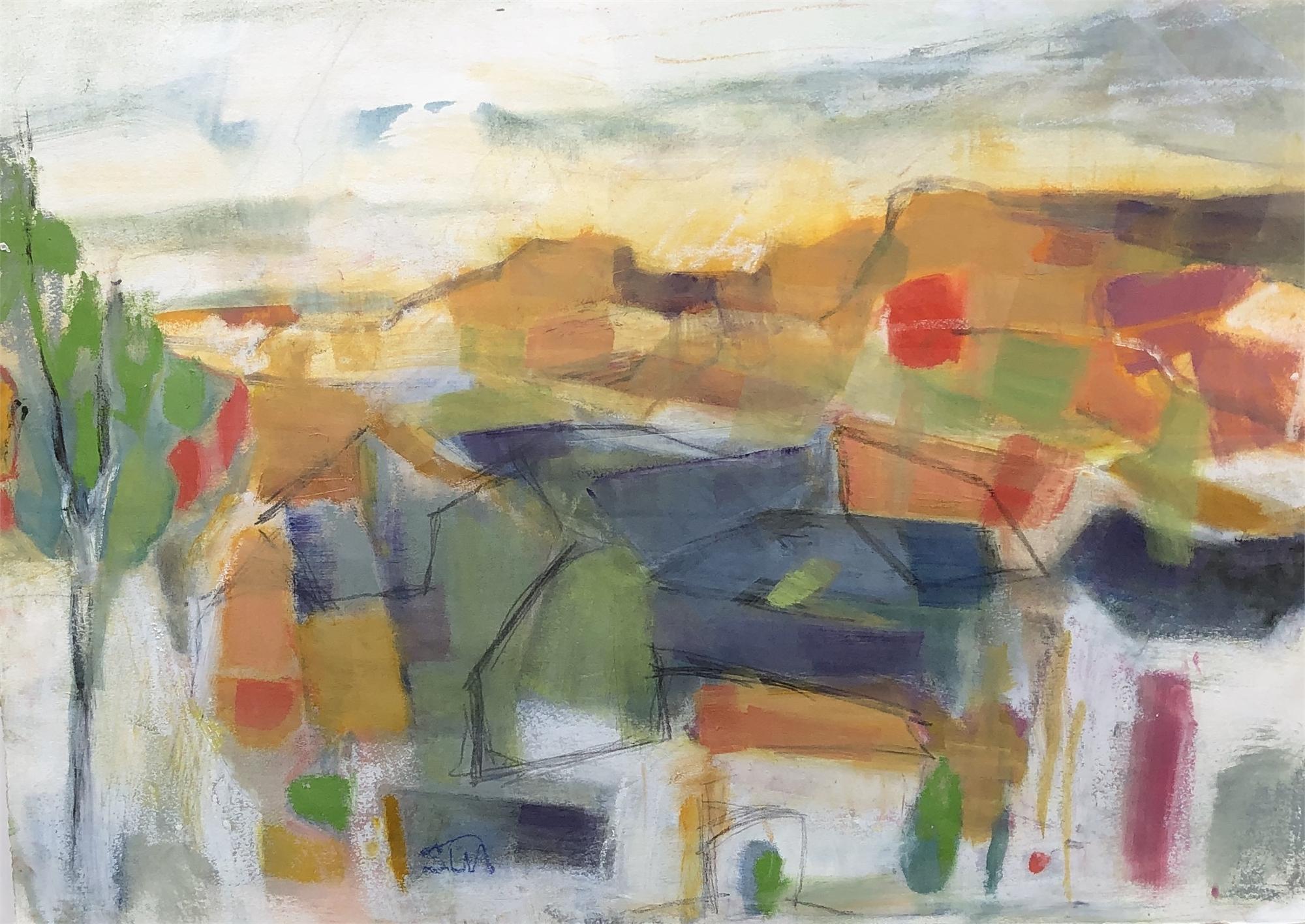 Monhegan Sunset by Susan Altman