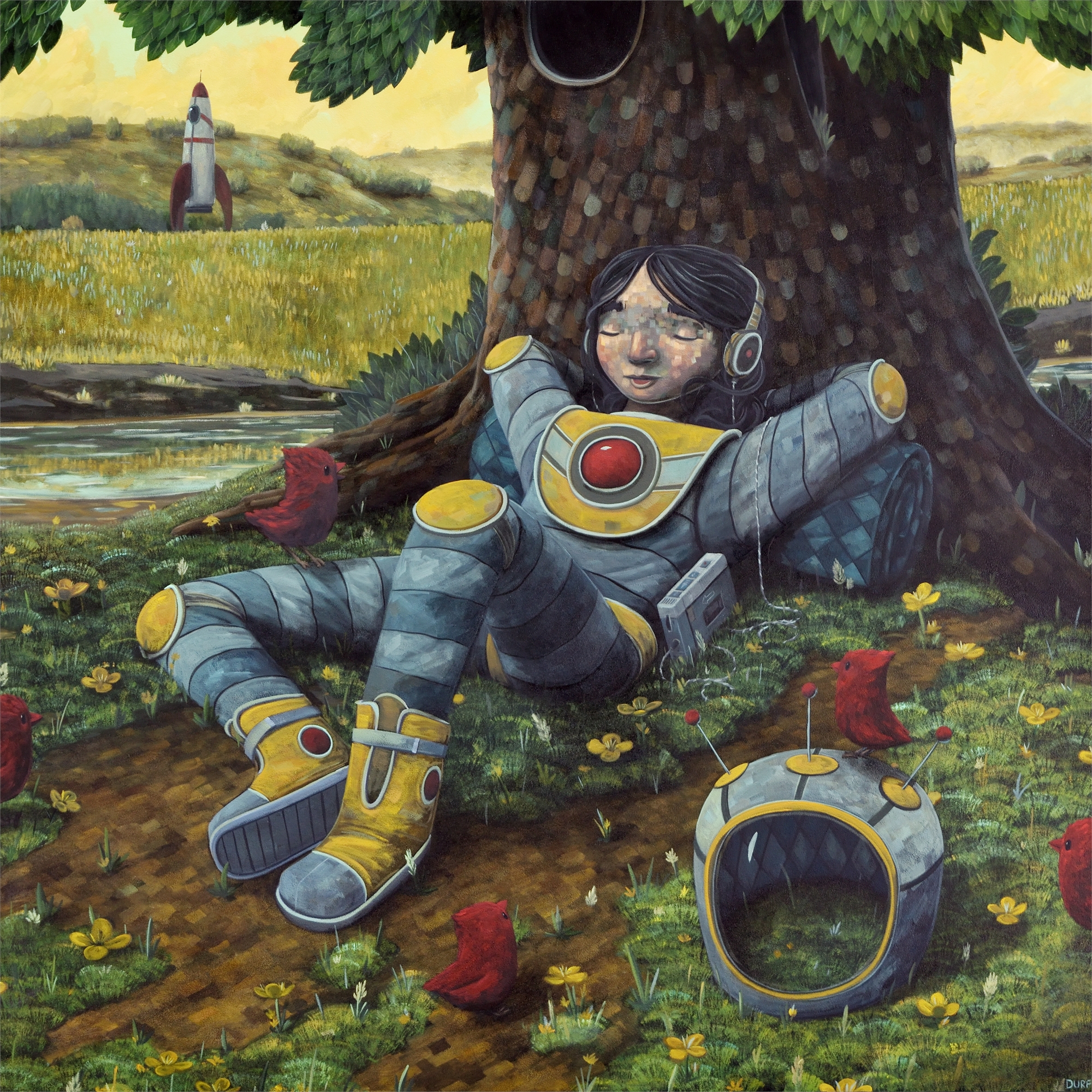 The Relaxing Reunion by Nathan Durfee