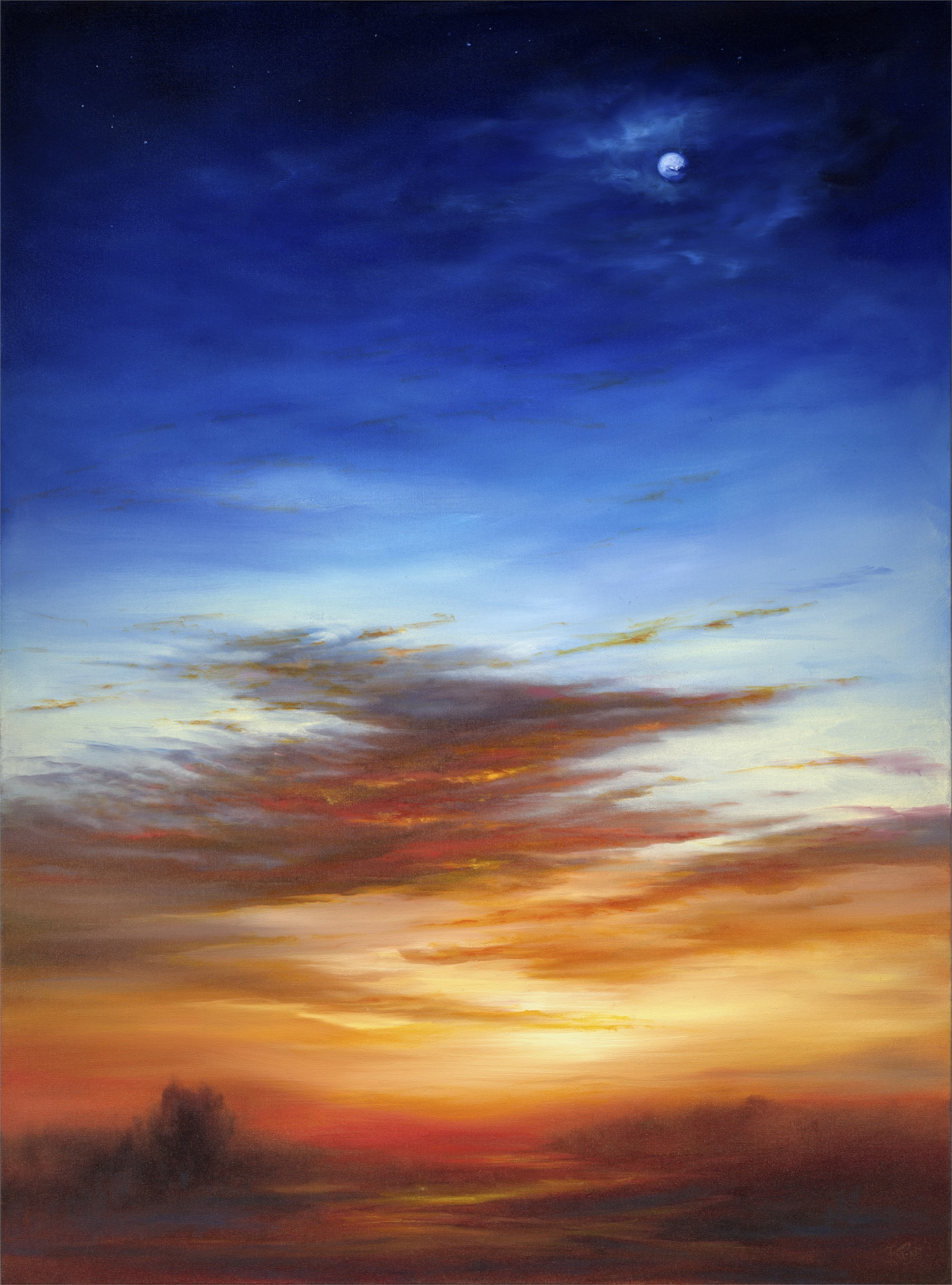 Between the Moon and the Sun by Cheryl Kline
