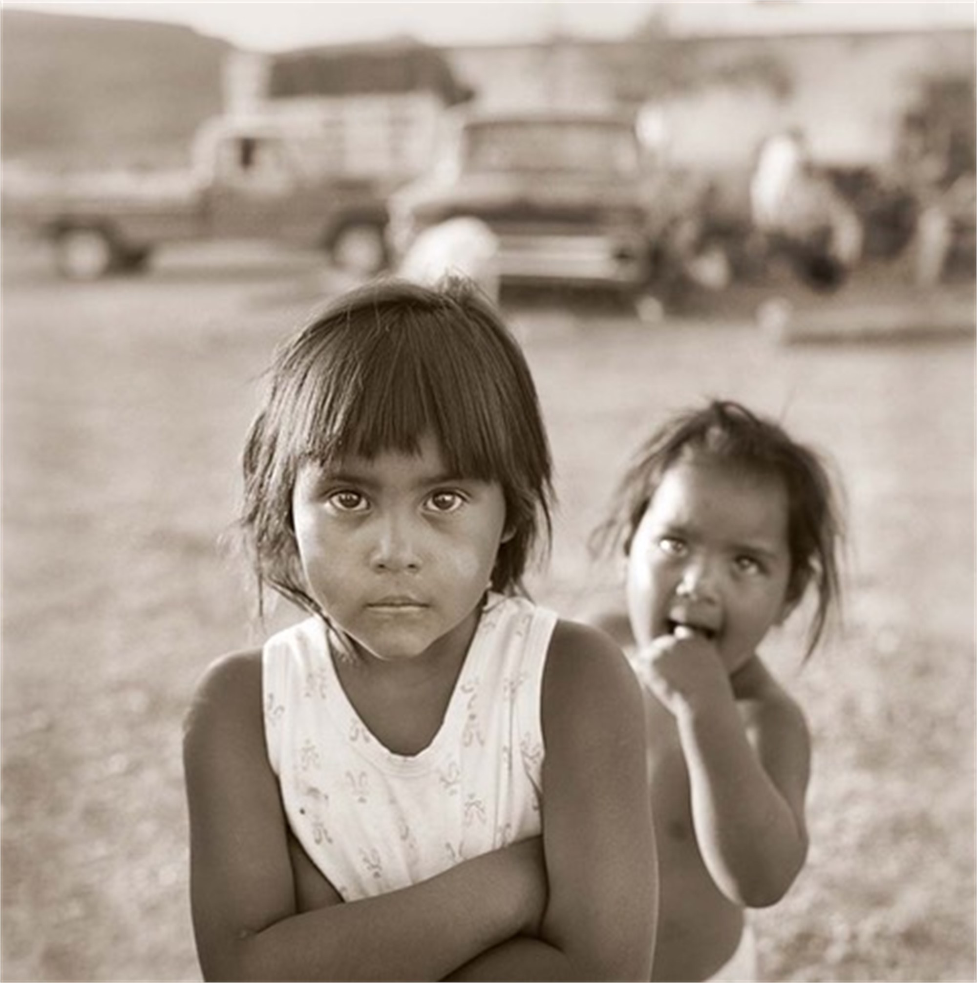 Sisters, Boquillas, Mexico by James H. Evans