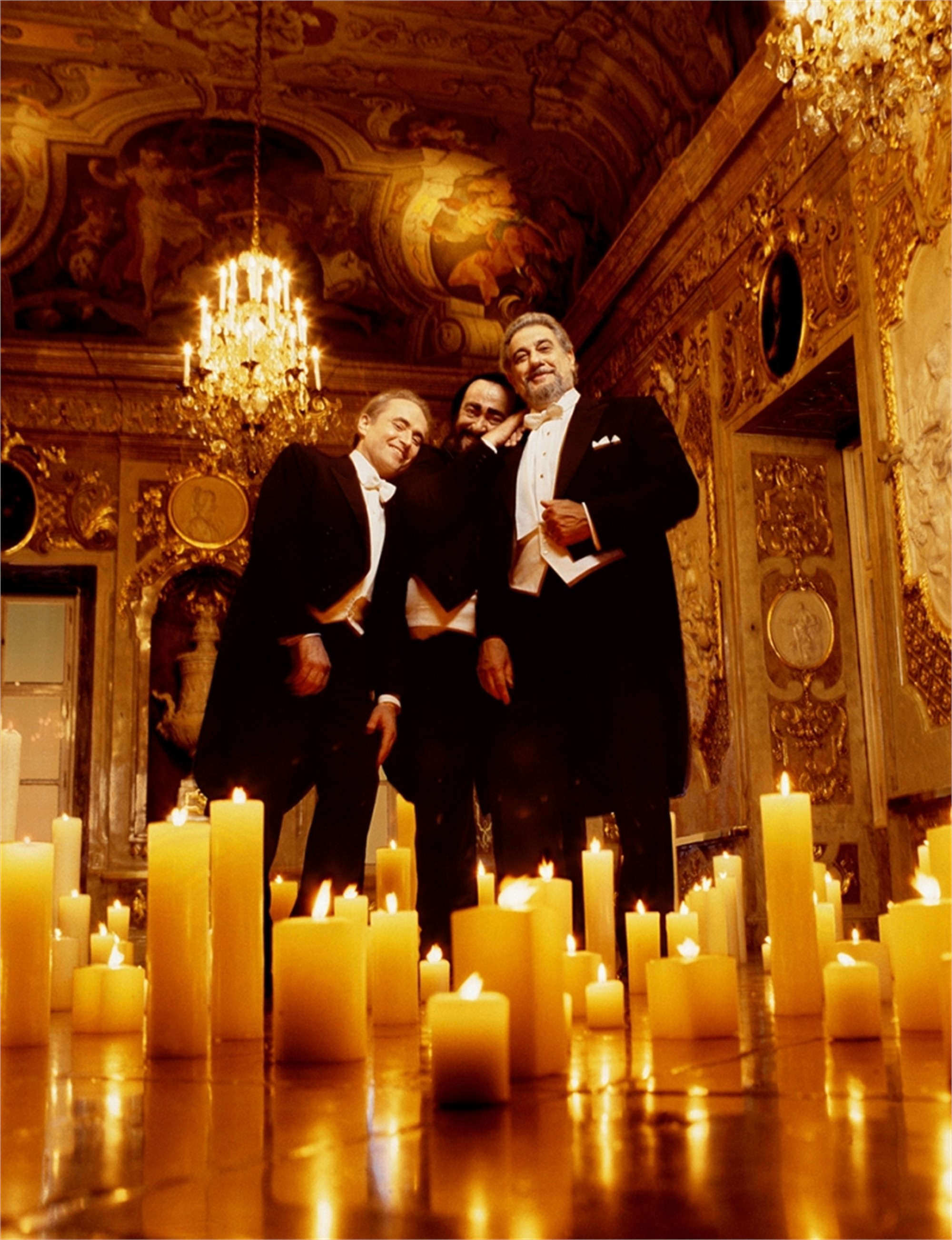 99078 The Three Tenors Standing Color by Timothy White