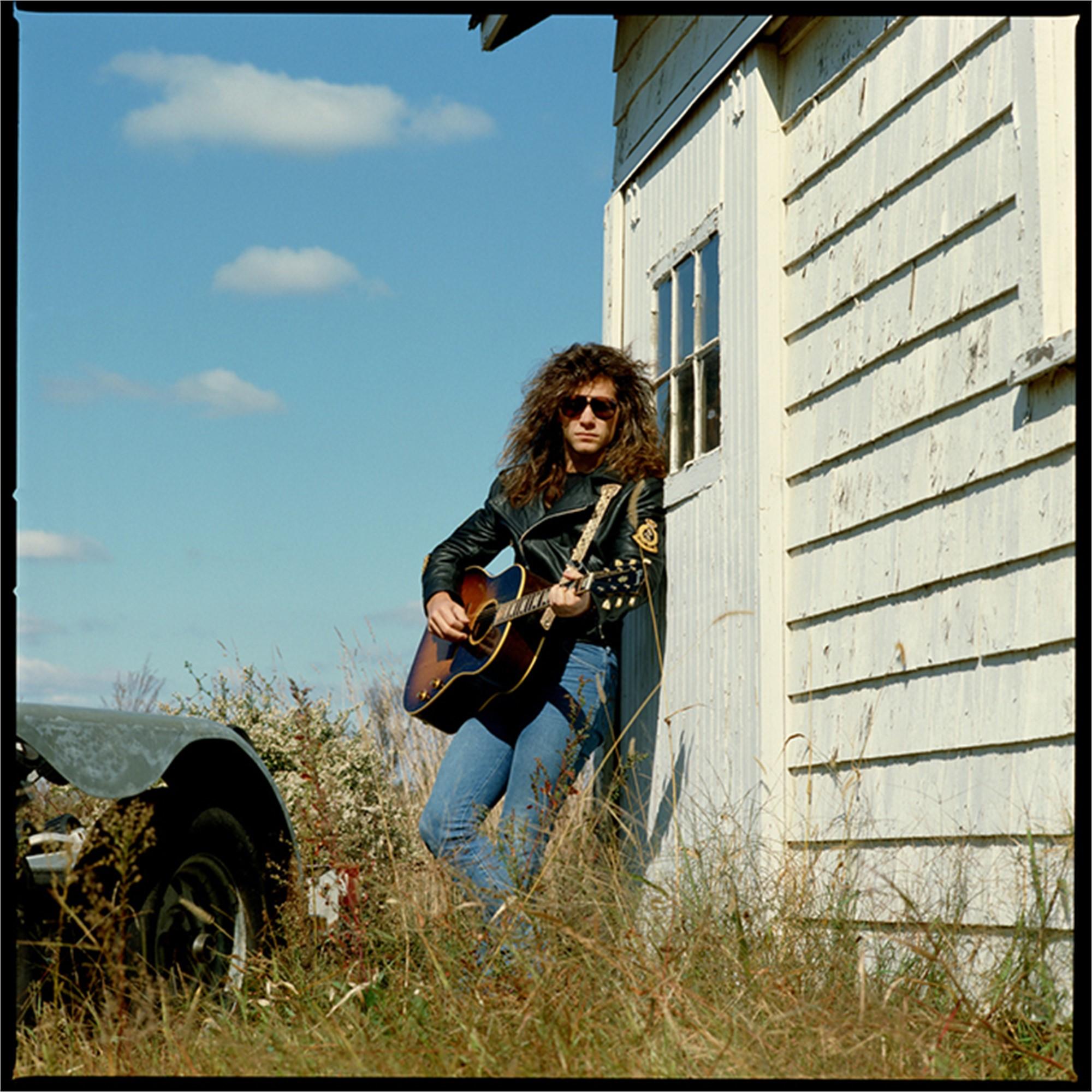 88182 Jon Bon Jovi on White Wall Color by Timothy White