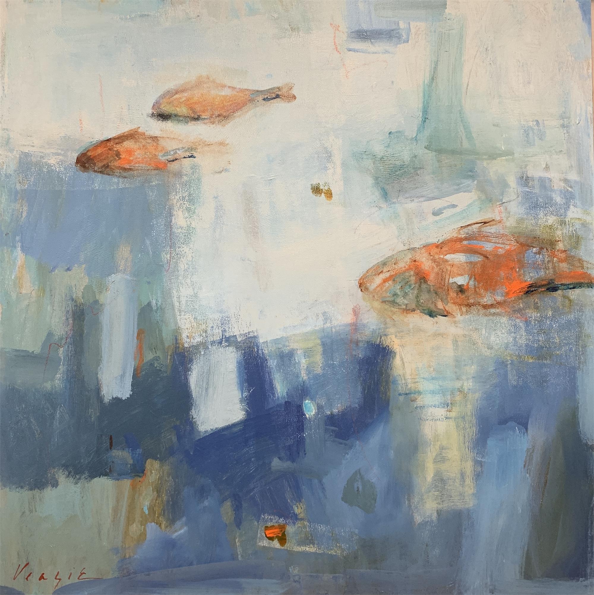 Deep Blue by Mary Miller Veazie