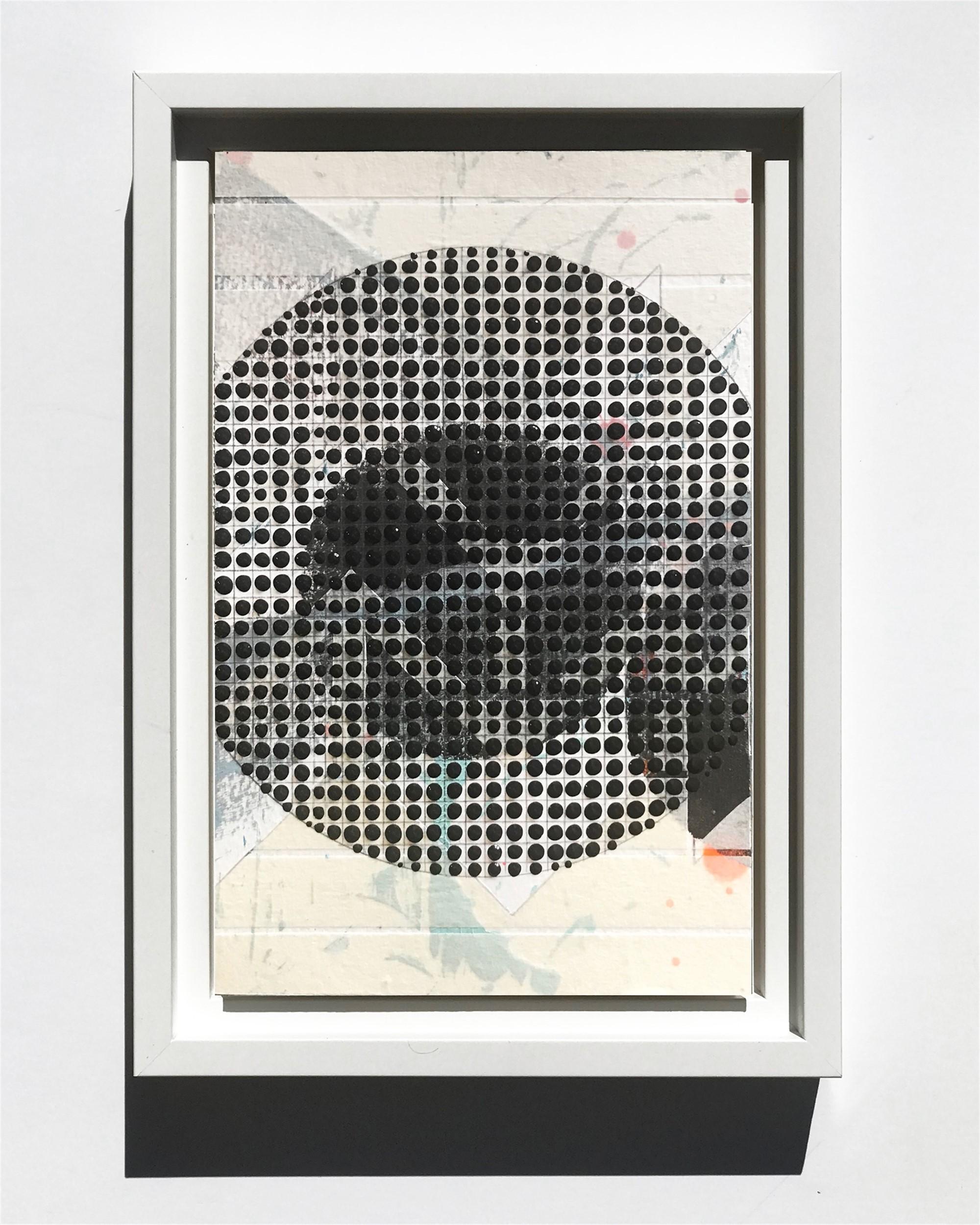 Circle, Black, Study No.73 by Nina Tichava
