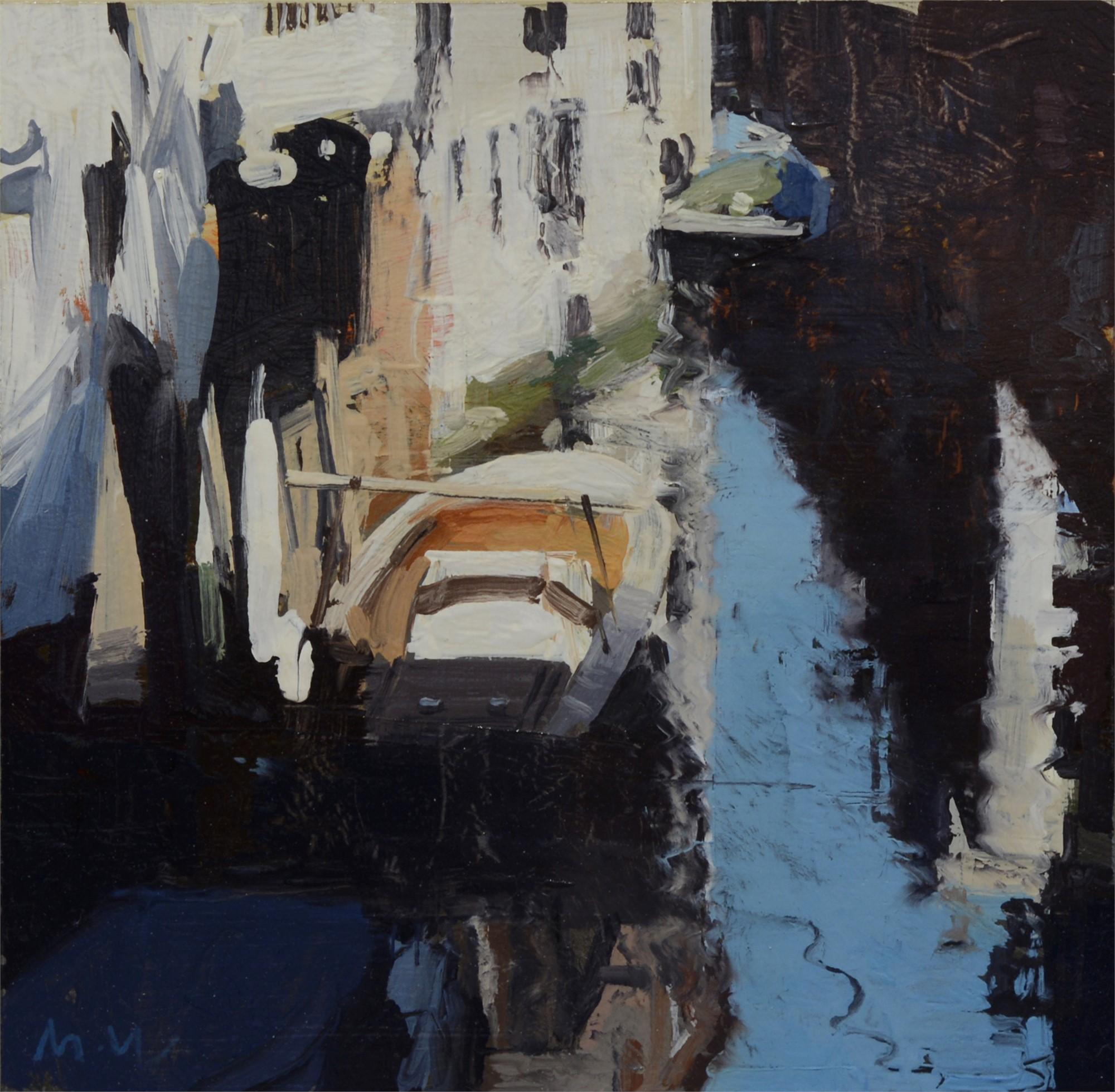 Canal Sketch 1 by Michael Workman