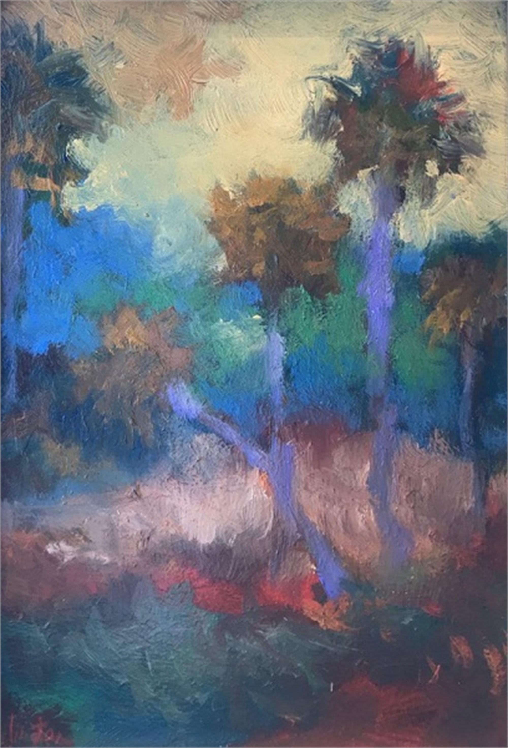 Palmettos In Sunlight by Jim Darlington