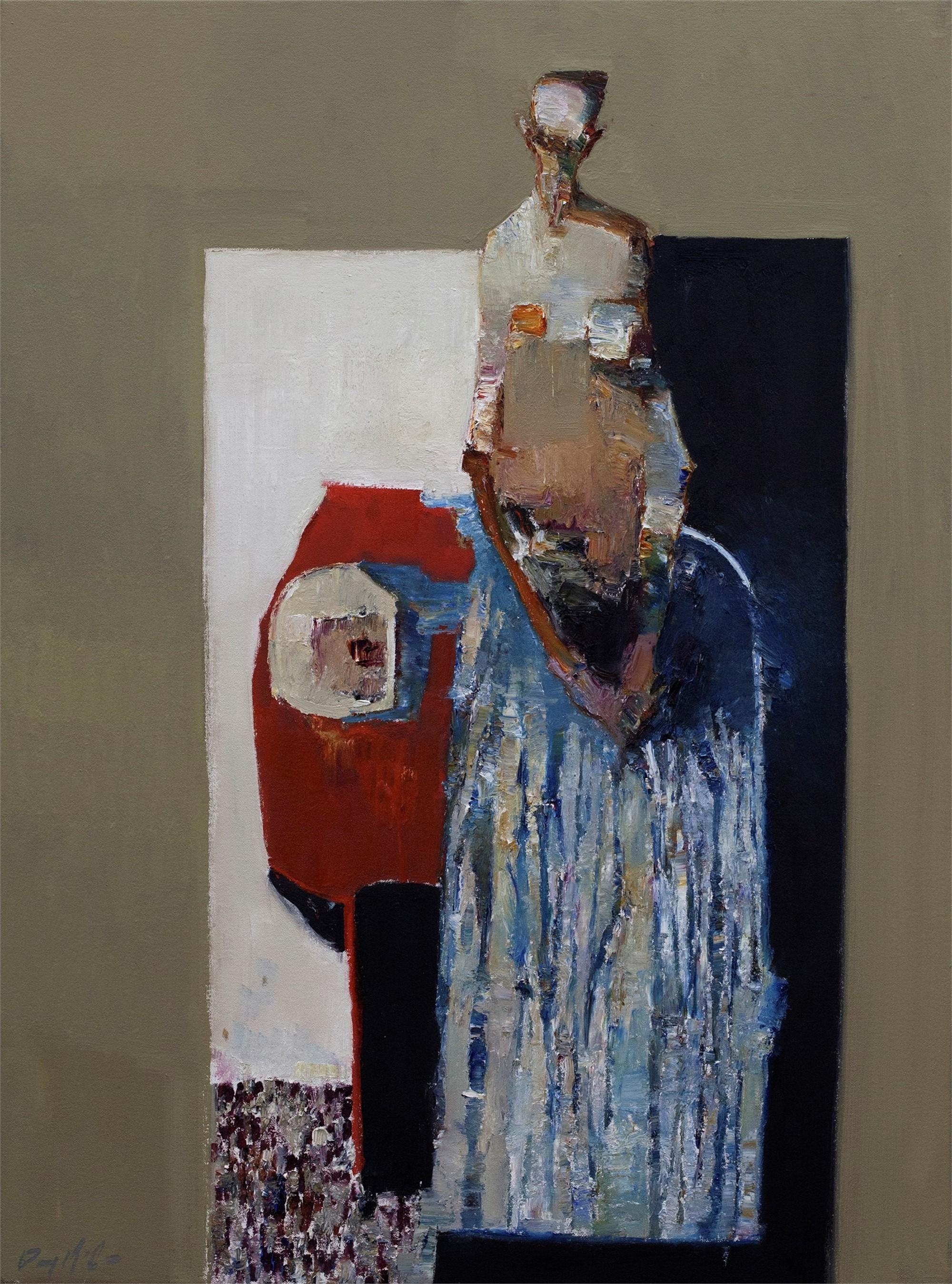Striped Dress by Danny McCaw